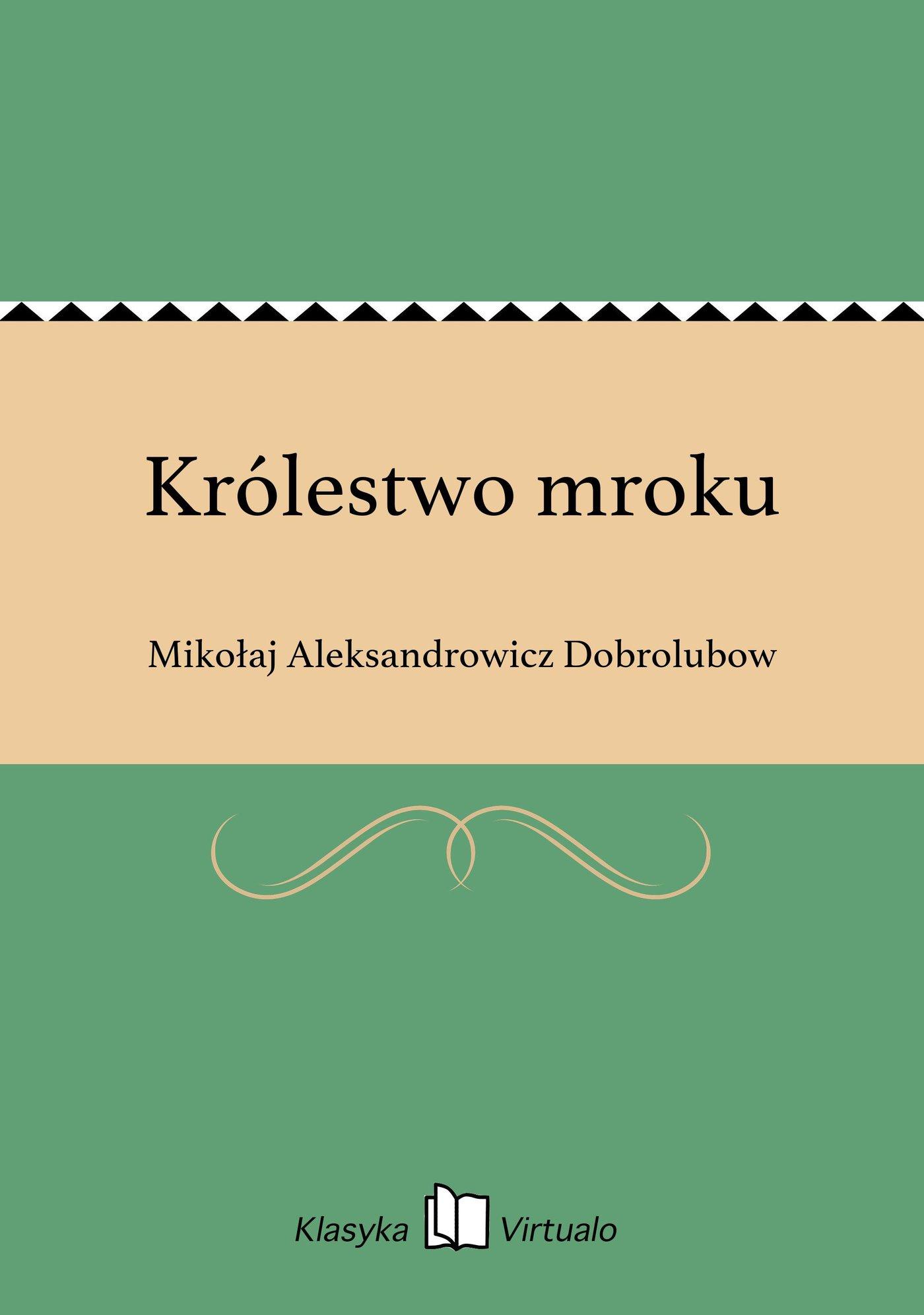 Królestwo mroku - Ebook (Książka EPUB) do pobrania w formacie EPUB