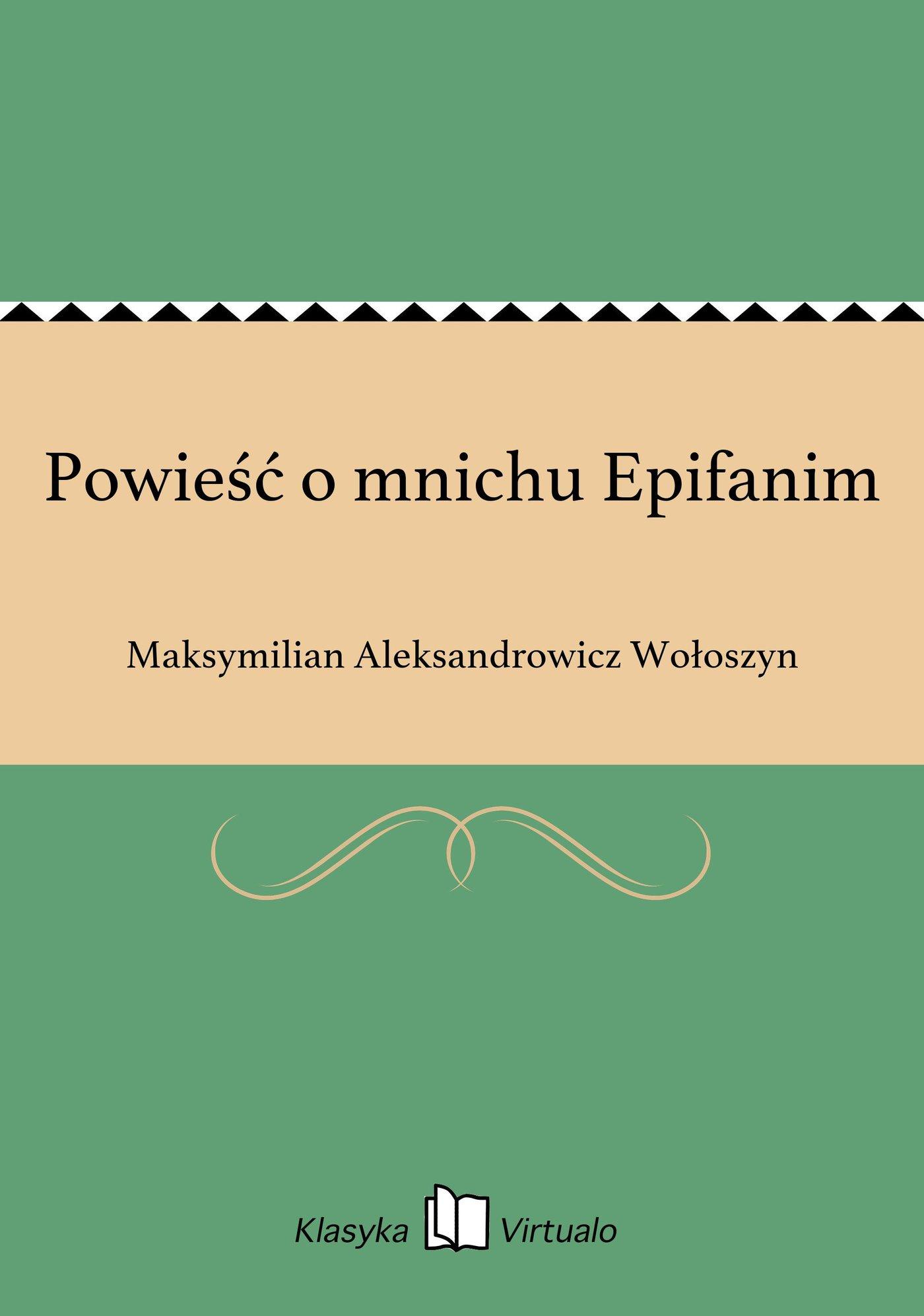 Powieść o mnichu Epifanim - Ebook (Książka EPUB) do pobrania w formacie EPUB