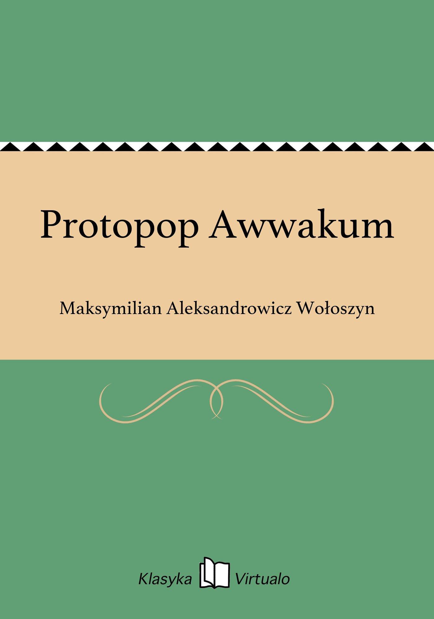 Protopop Awwakum - Ebook (Książka EPUB) do pobrania w formacie EPUB