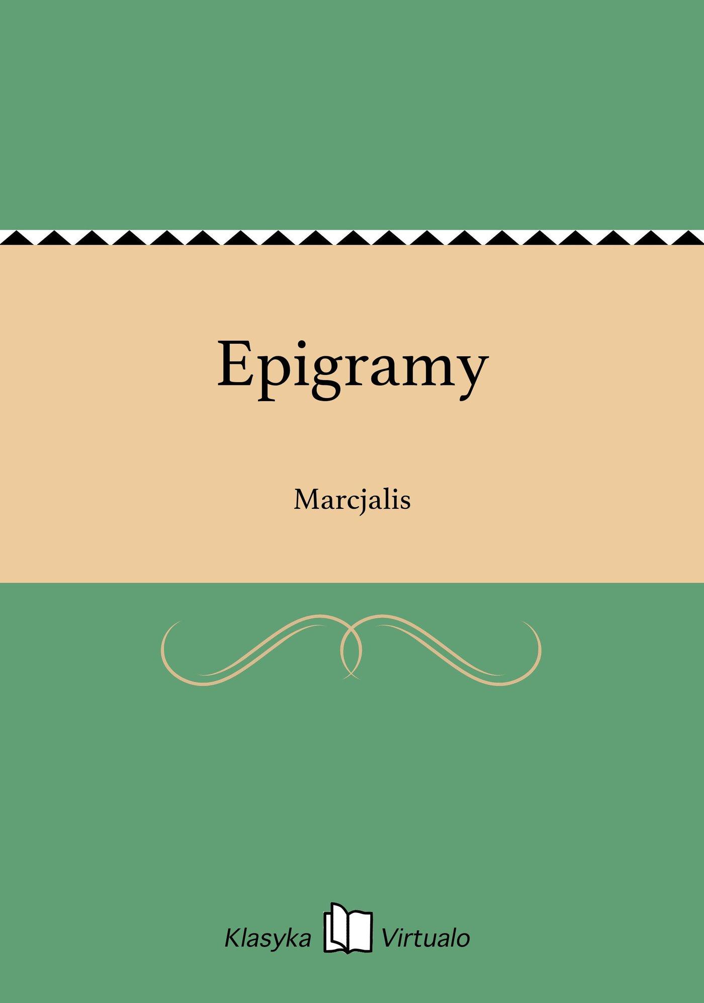 Epigramy - Ebook (Książka EPUB) do pobrania w formacie EPUB