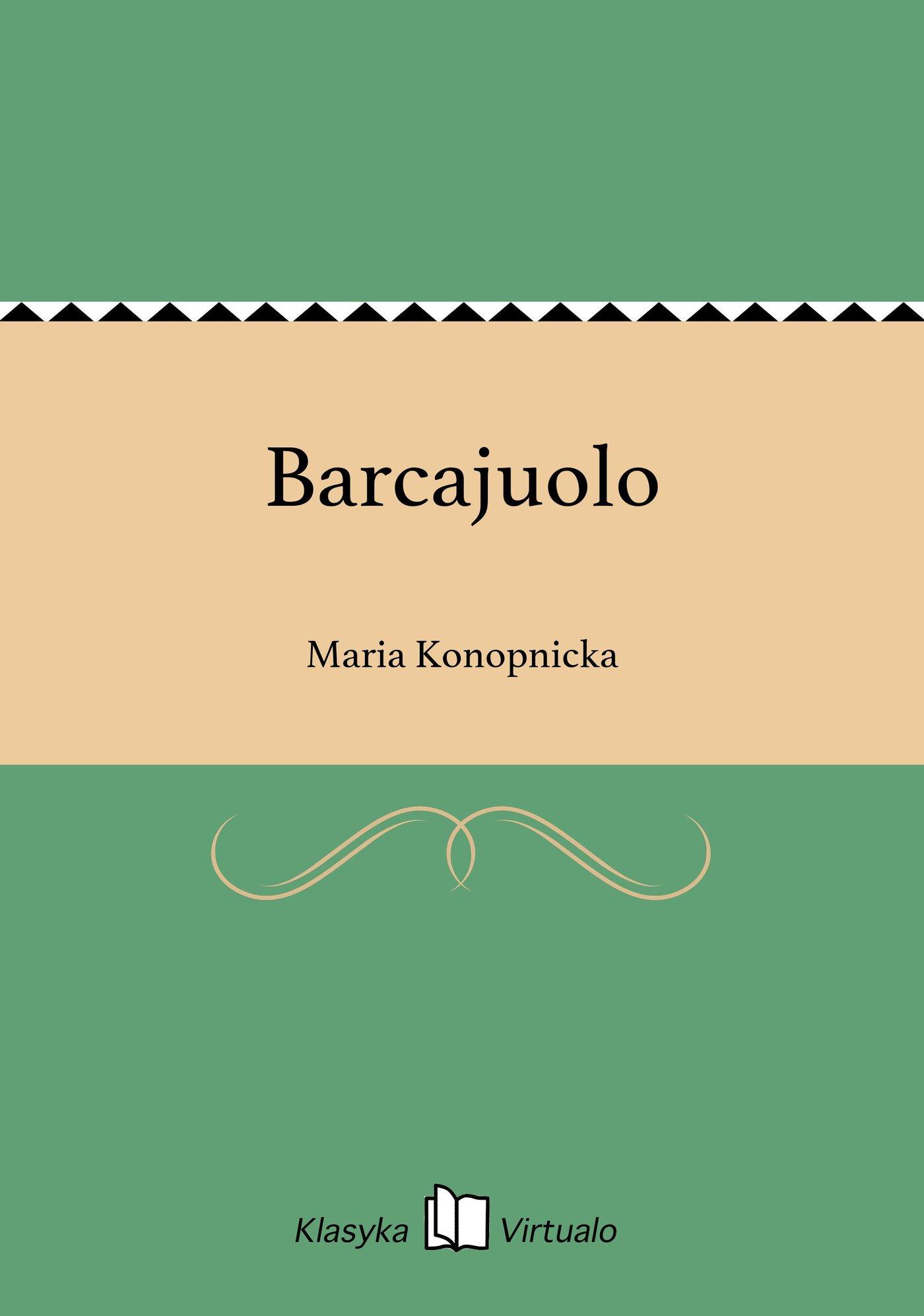Barcajuolo - Ebook (Książka EPUB) do pobrania w formacie EPUB