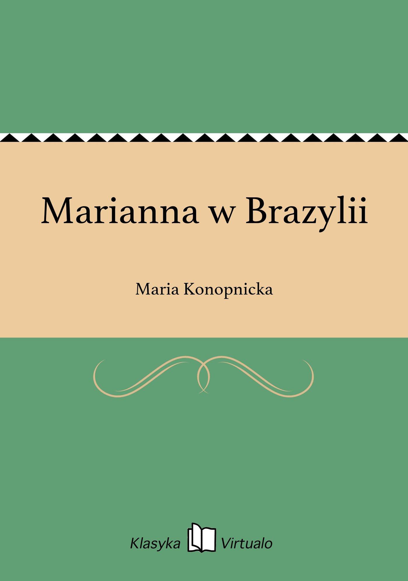 Marianna w Brazylii - Ebook (Książka EPUB) do pobrania w formacie EPUB