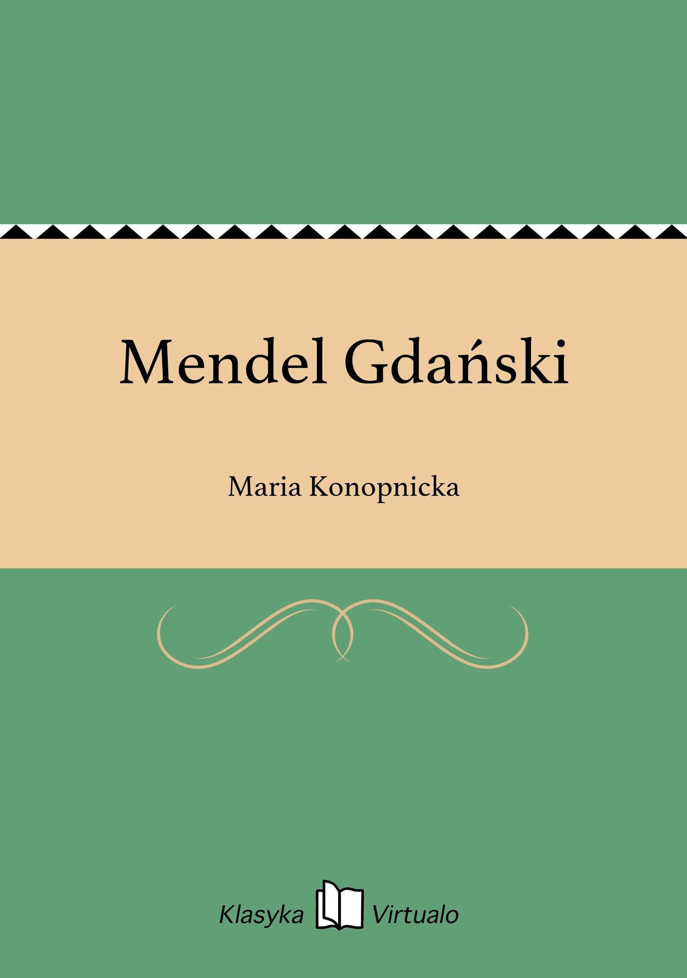Mendel Gdański - Ebook (Książka EPUB) do pobrania w formacie EPUB