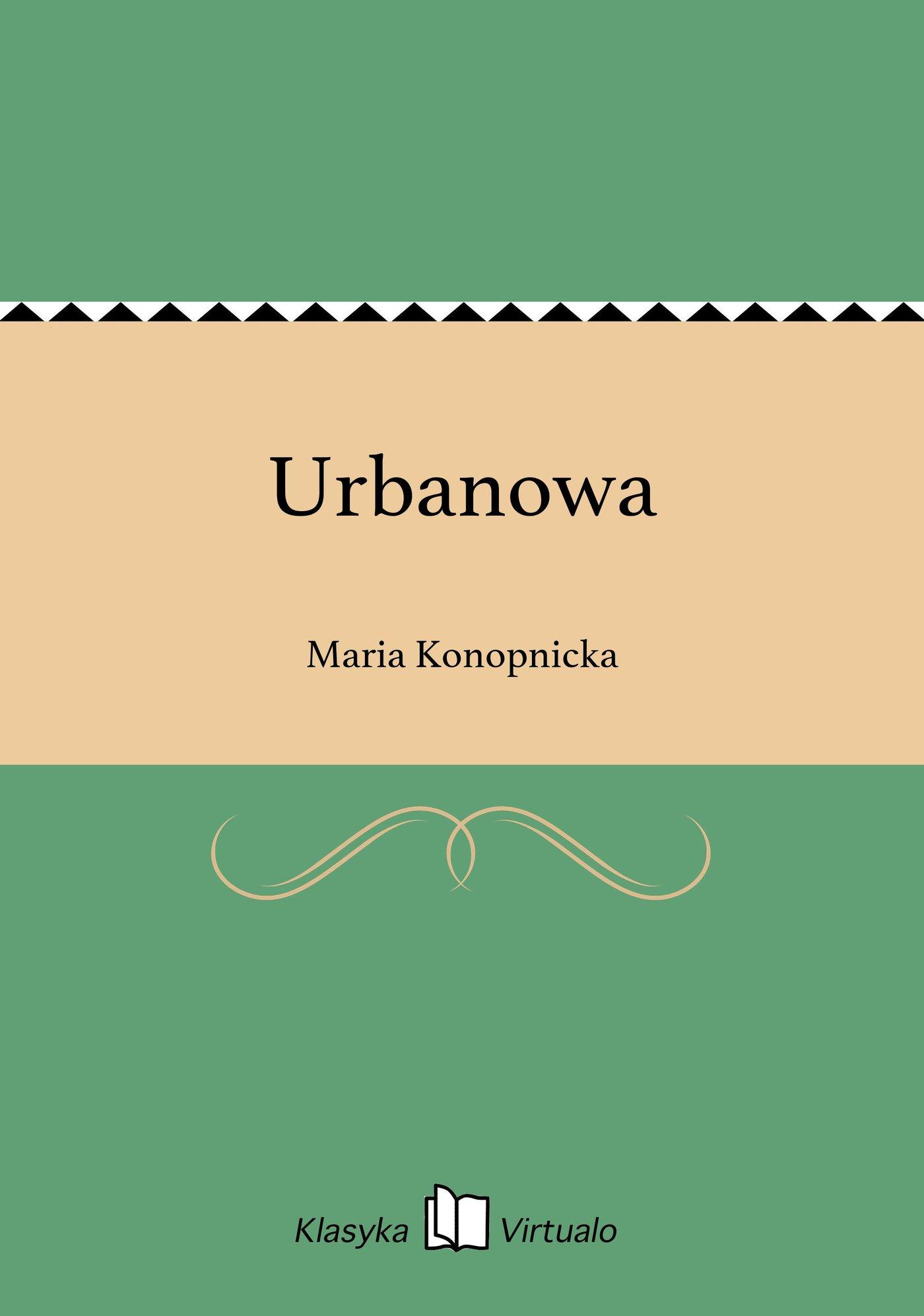 Urbanowa - Ebook (Książka EPUB) do pobrania w formacie EPUB