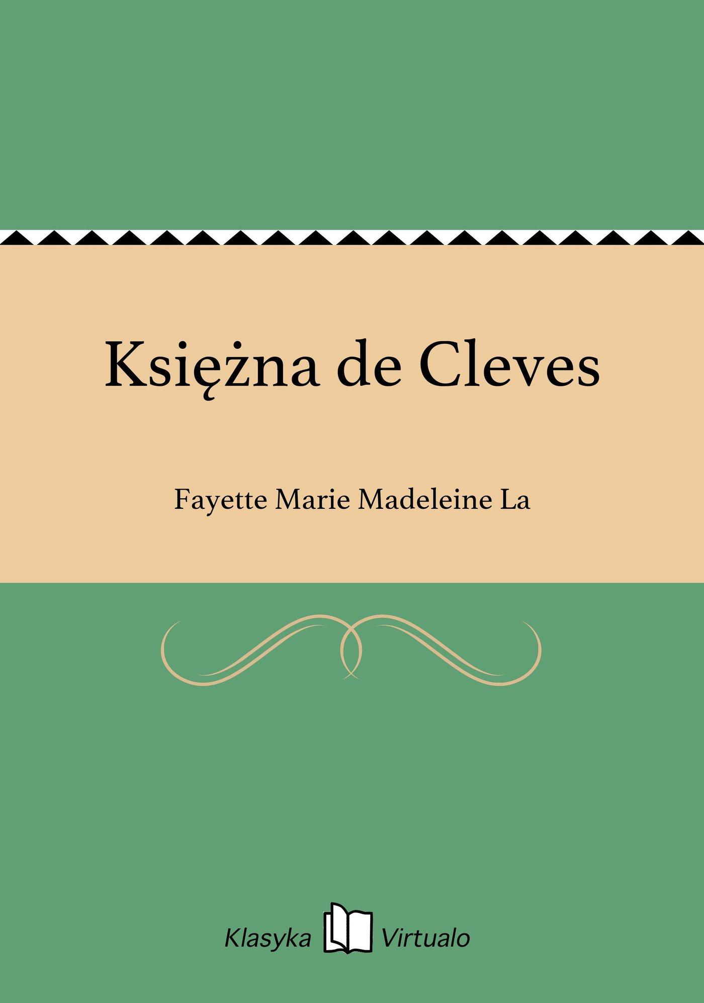 Księżna de Cleves - Ebook (Książka EPUB) do pobrania w formacie EPUB