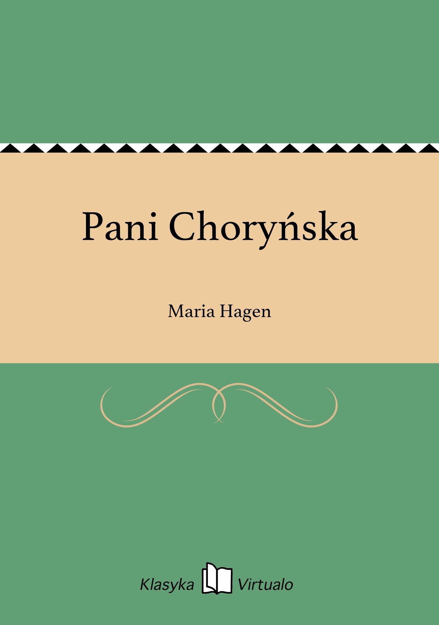 Pani Choryńska - Ebook (Książka EPUB) do pobrania w formacie EPUB