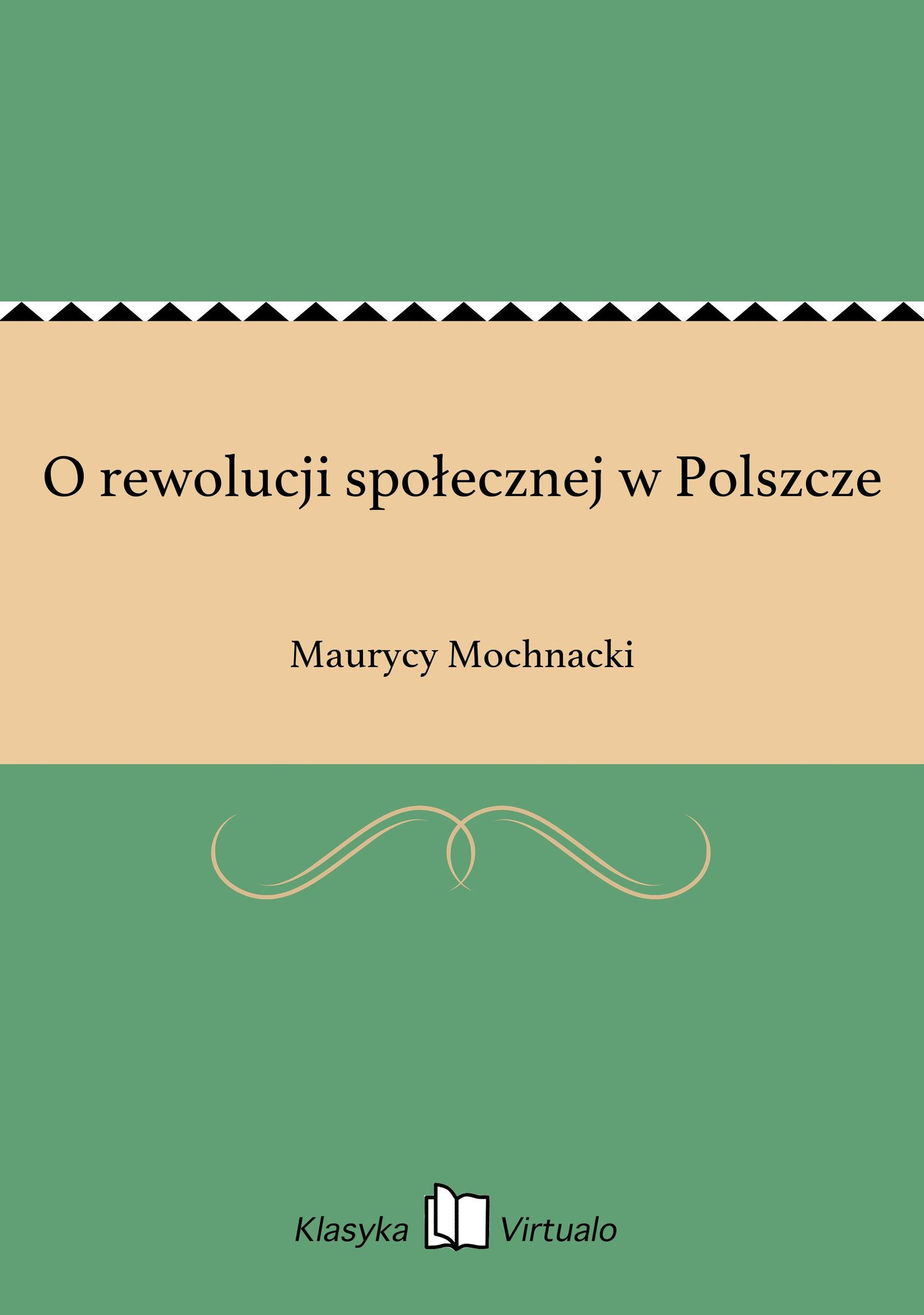 O rewolucji społecznej w Polszcze - Ebook (Książka EPUB) do pobrania w formacie EPUB