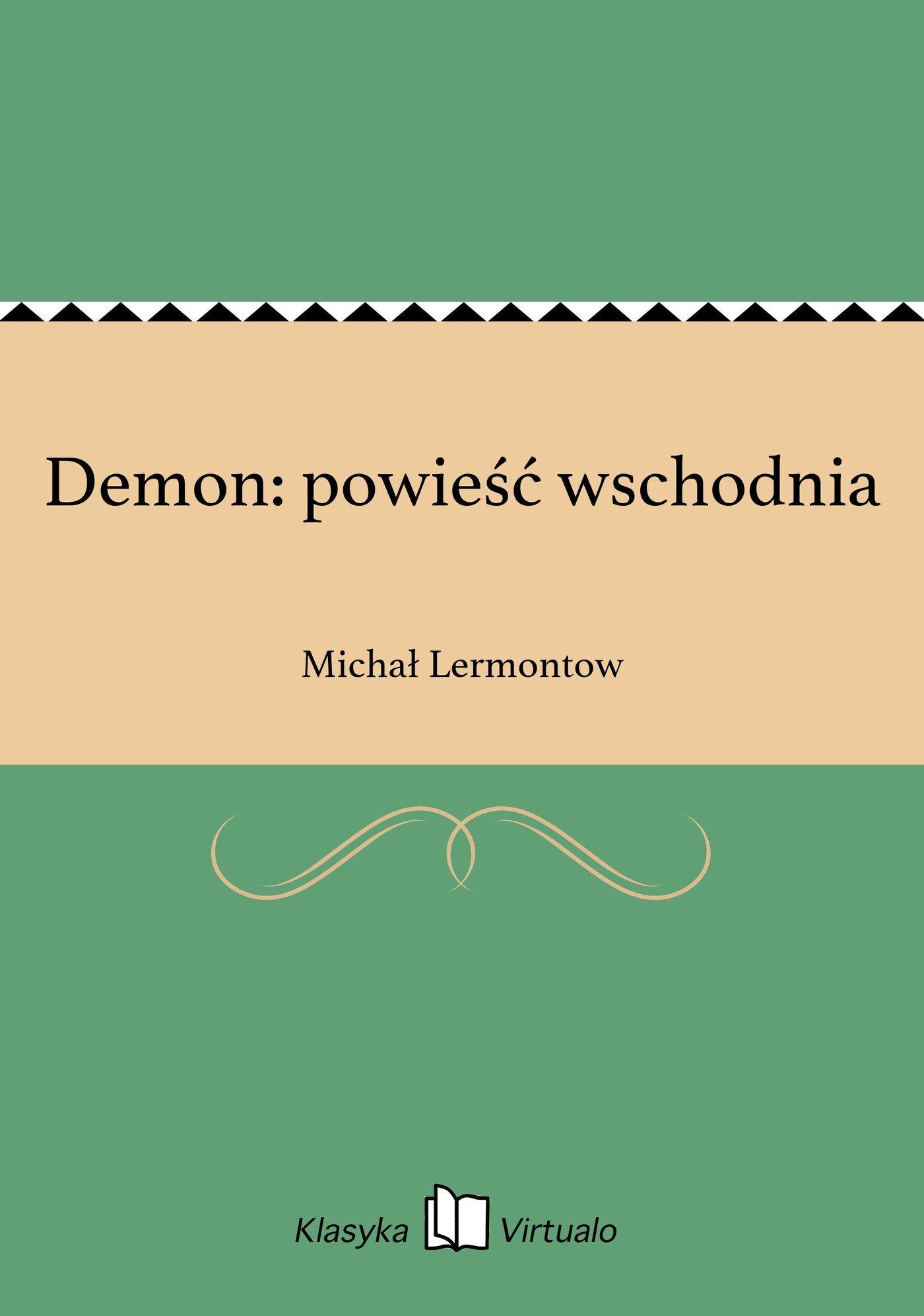 Demon: powieść wschodnia - Ebook (Książka EPUB) do pobrania w formacie EPUB