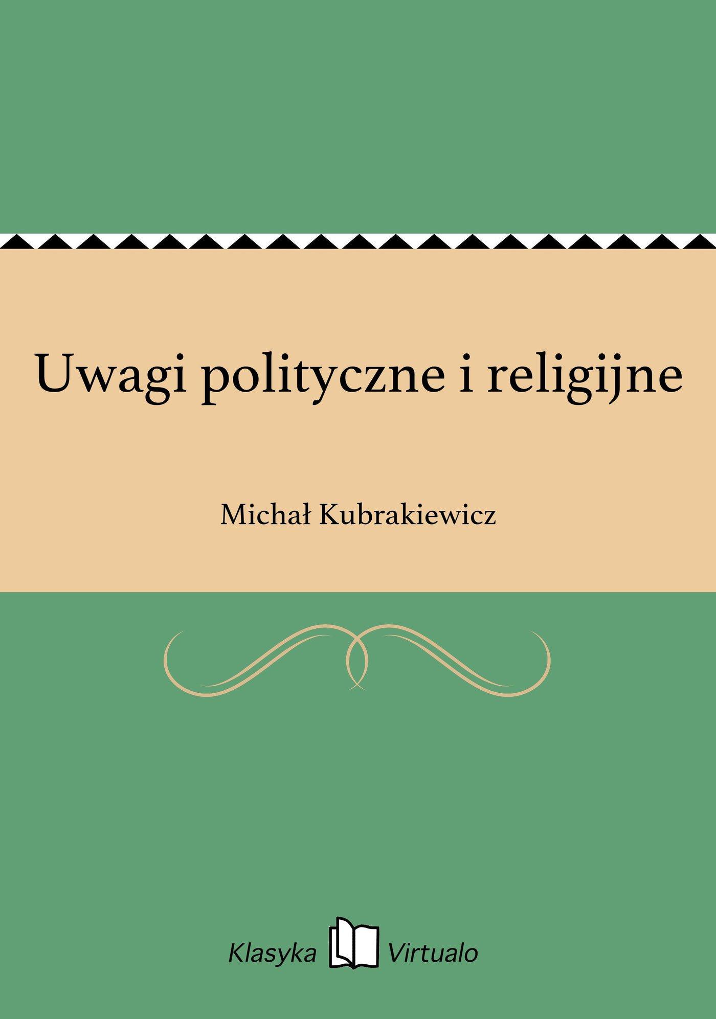 Uwagi polityczne i religijne - Ebook (Książka EPUB) do pobrania w formacie EPUB