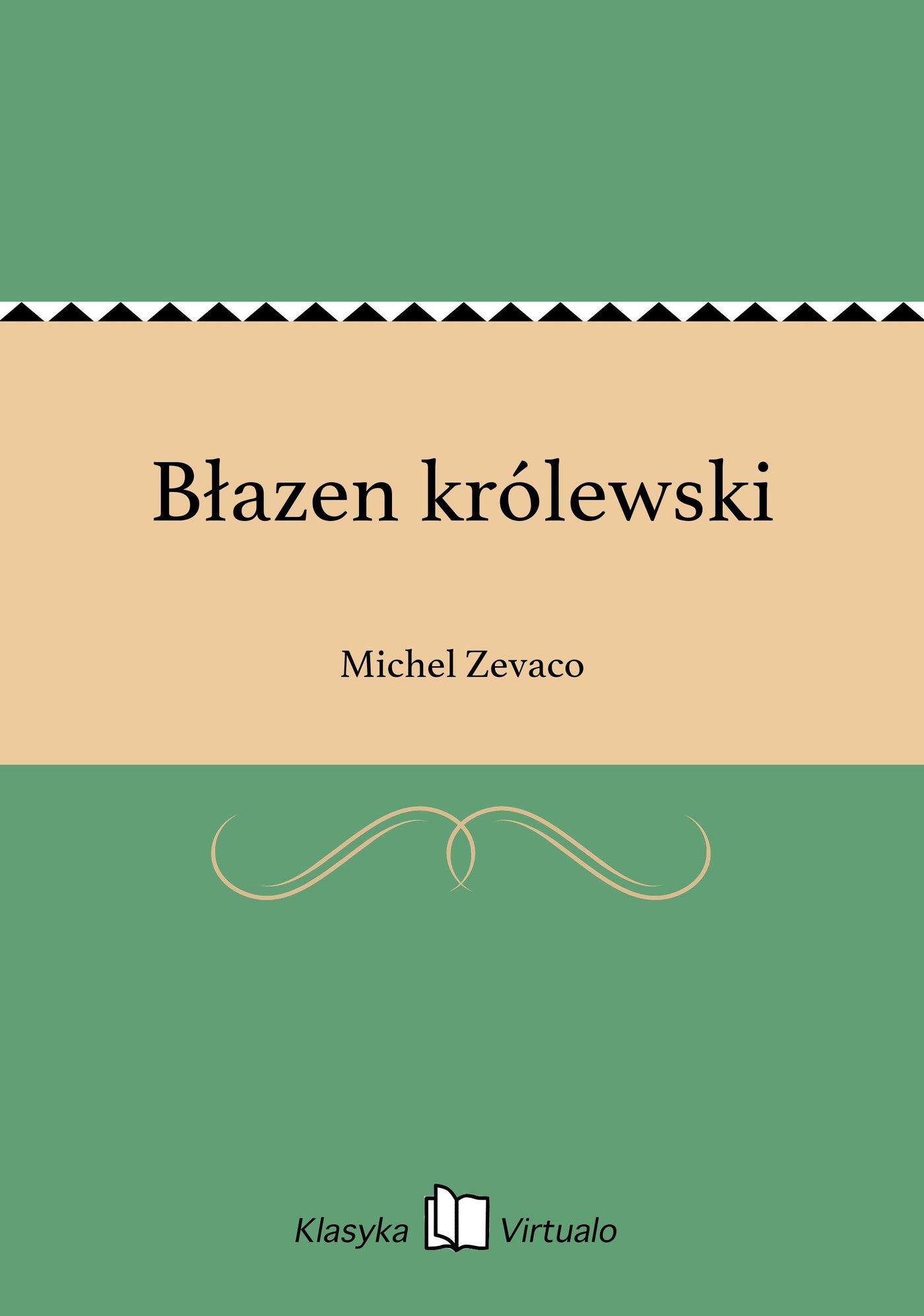 Błazen królewski - Ebook (Książka EPUB) do pobrania w formacie EPUB