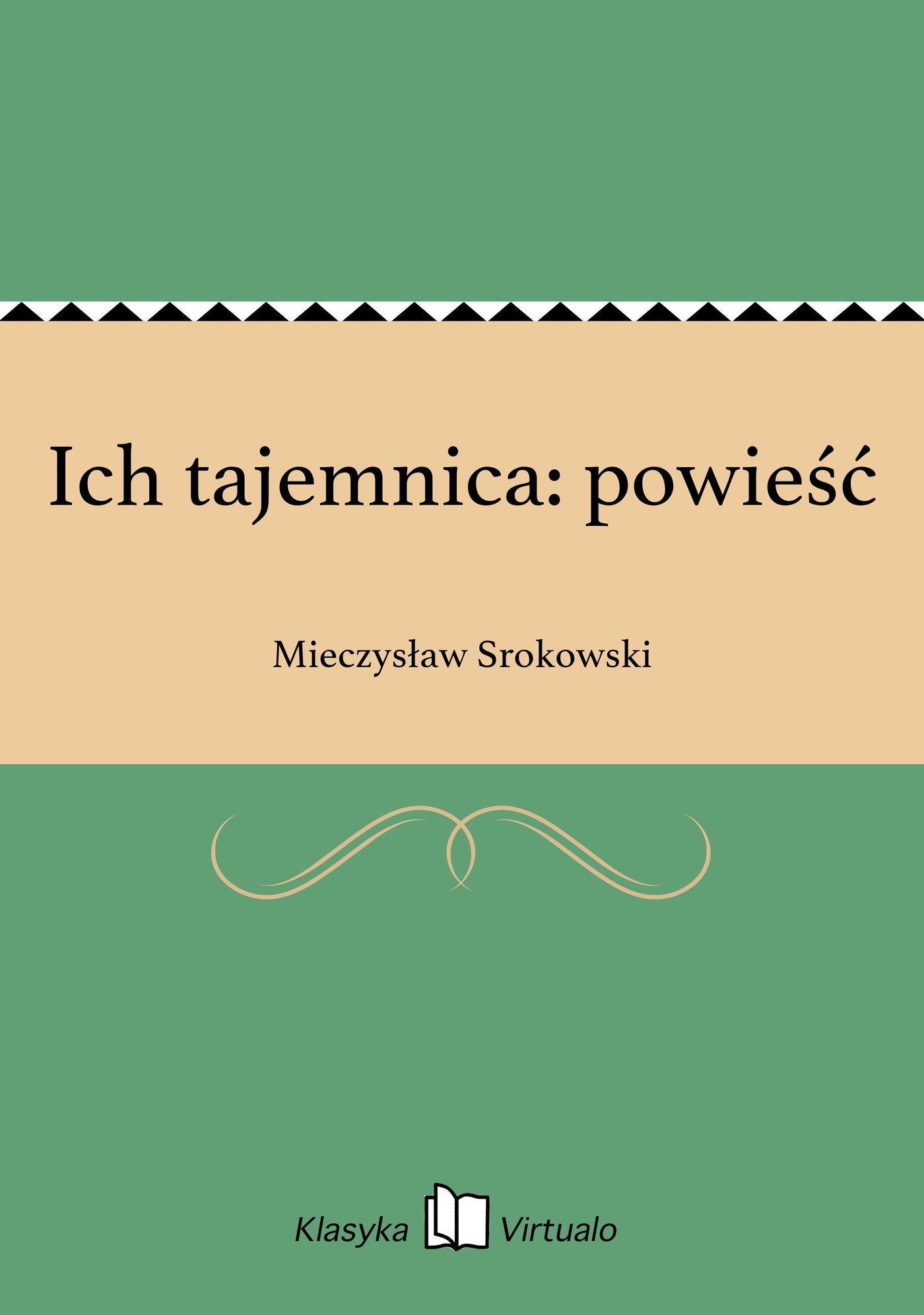 Ich tajemnica: powieść - Ebook (Książka EPUB) do pobrania w formacie EPUB