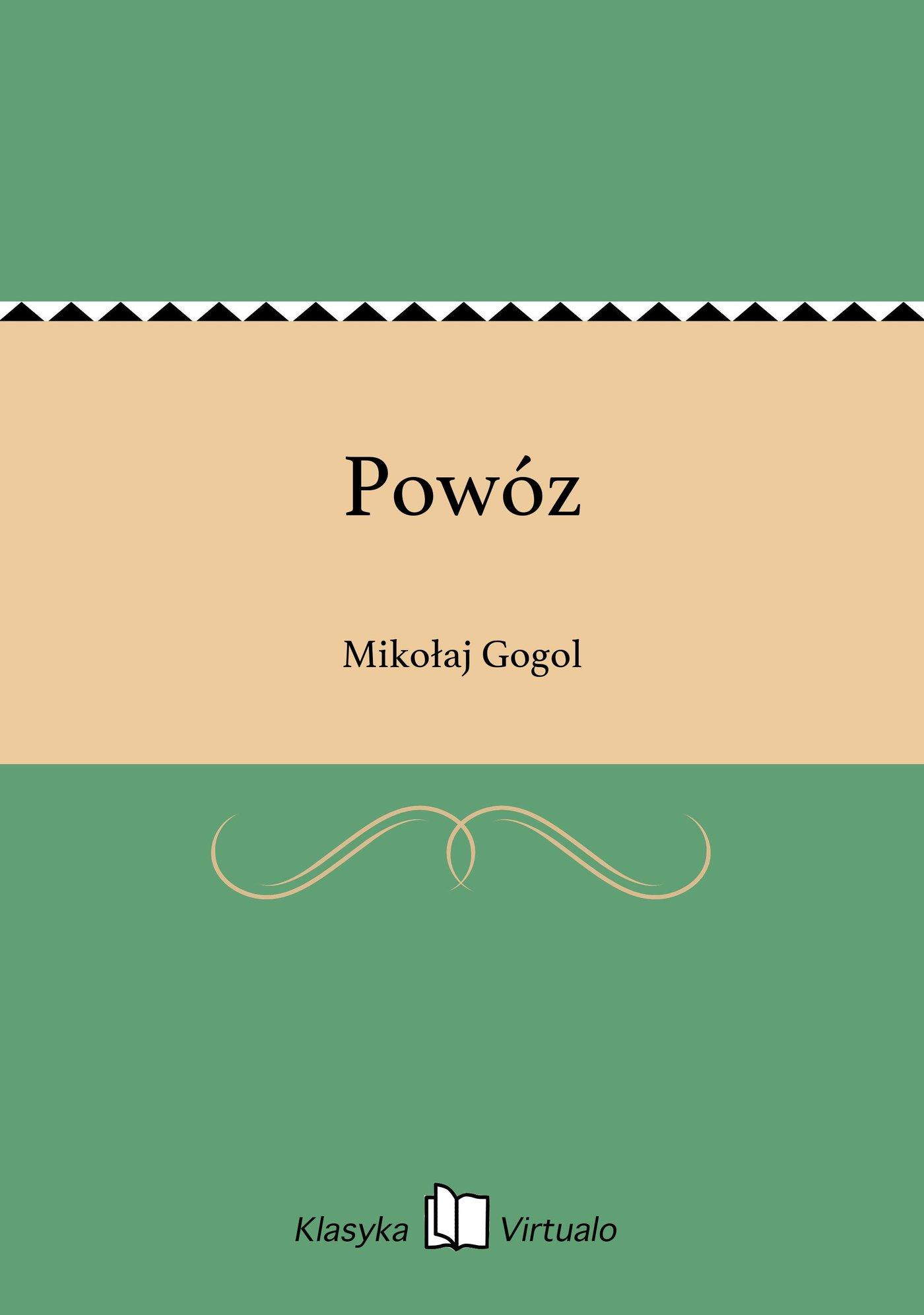 Powóz - Ebook (Książka EPUB) do pobrania w formacie EPUB