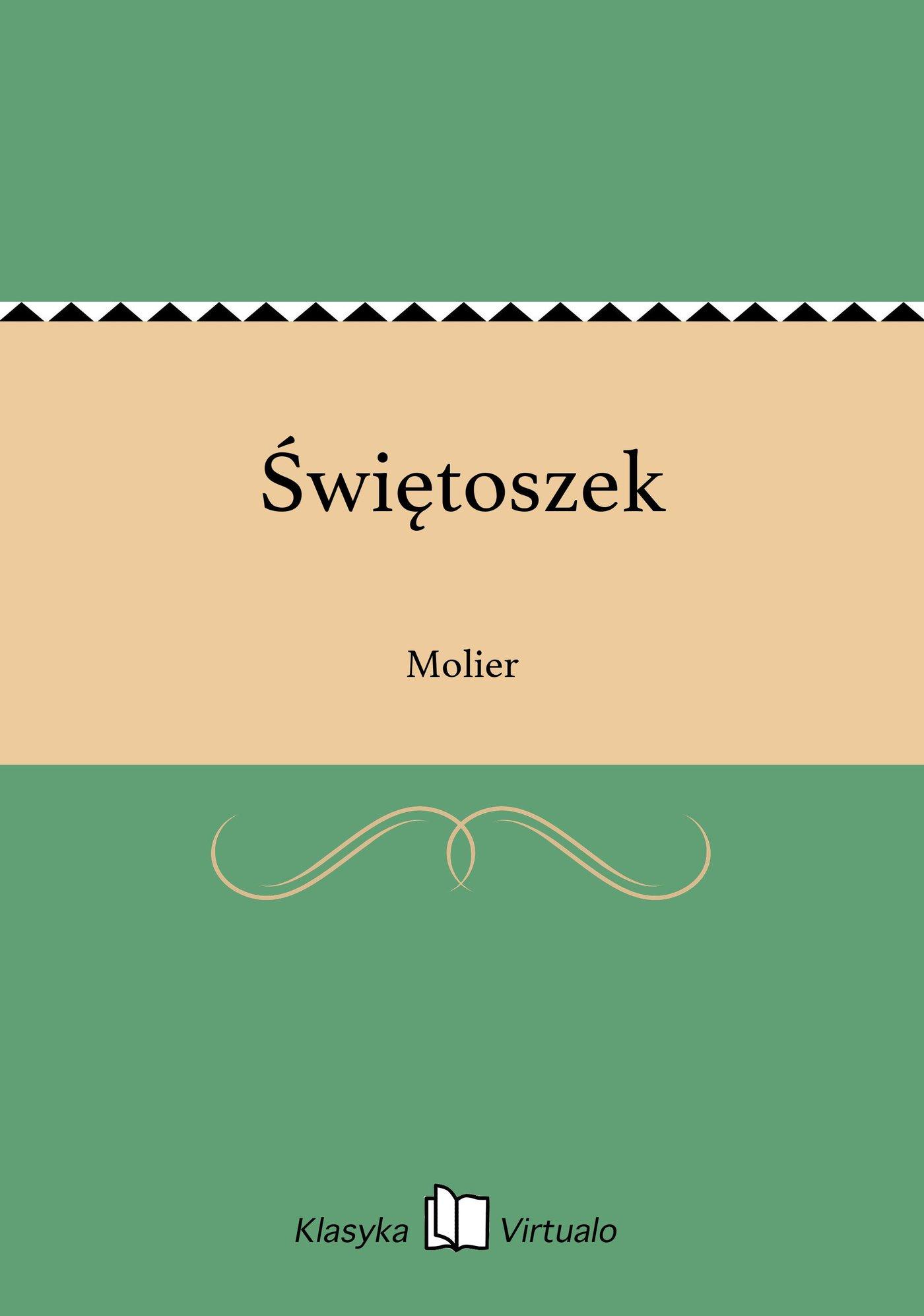 Świętoszek - Ebook (Książka EPUB) do pobrania w formacie EPUB