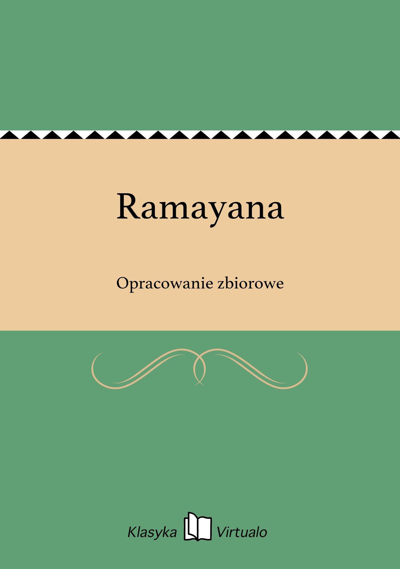 Ramayana - Ebook (Książka EPUB) do pobrania w formacie EPUB