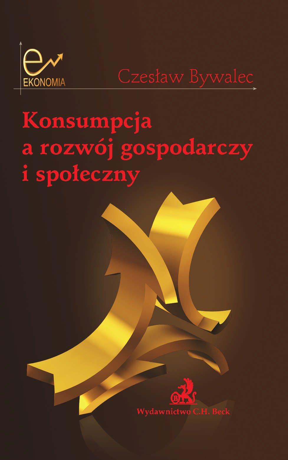 Konsumpcja a rozwój gospodarczy i społeczny - Ebook (Książka PDF) do pobrania w formacie PDF