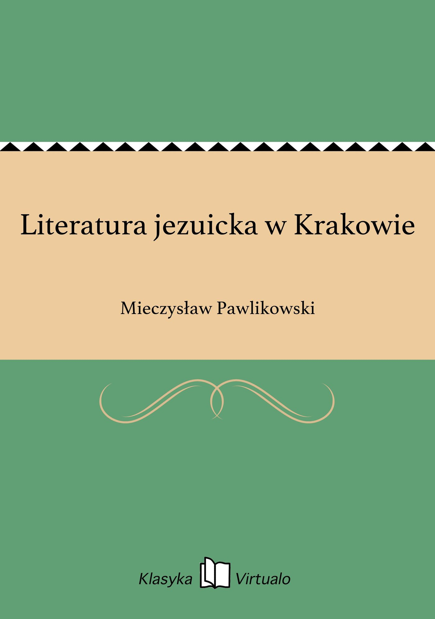 Literatura jezuicka w Krakowie - Ebook (Książka EPUB) do pobrania w formacie EPUB