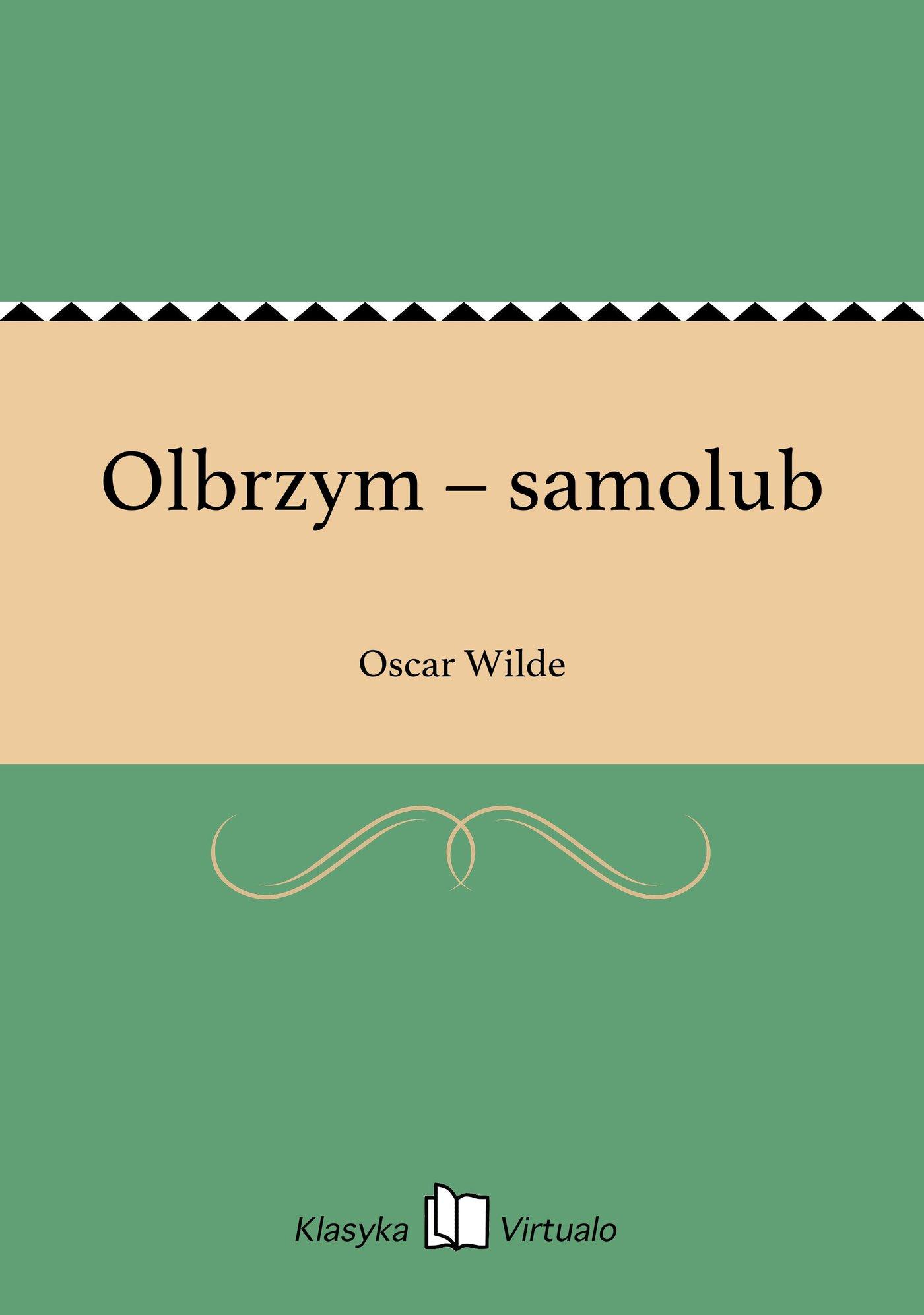Olbrzym – samolub - Ebook (Książka EPUB) do pobrania w formacie EPUB