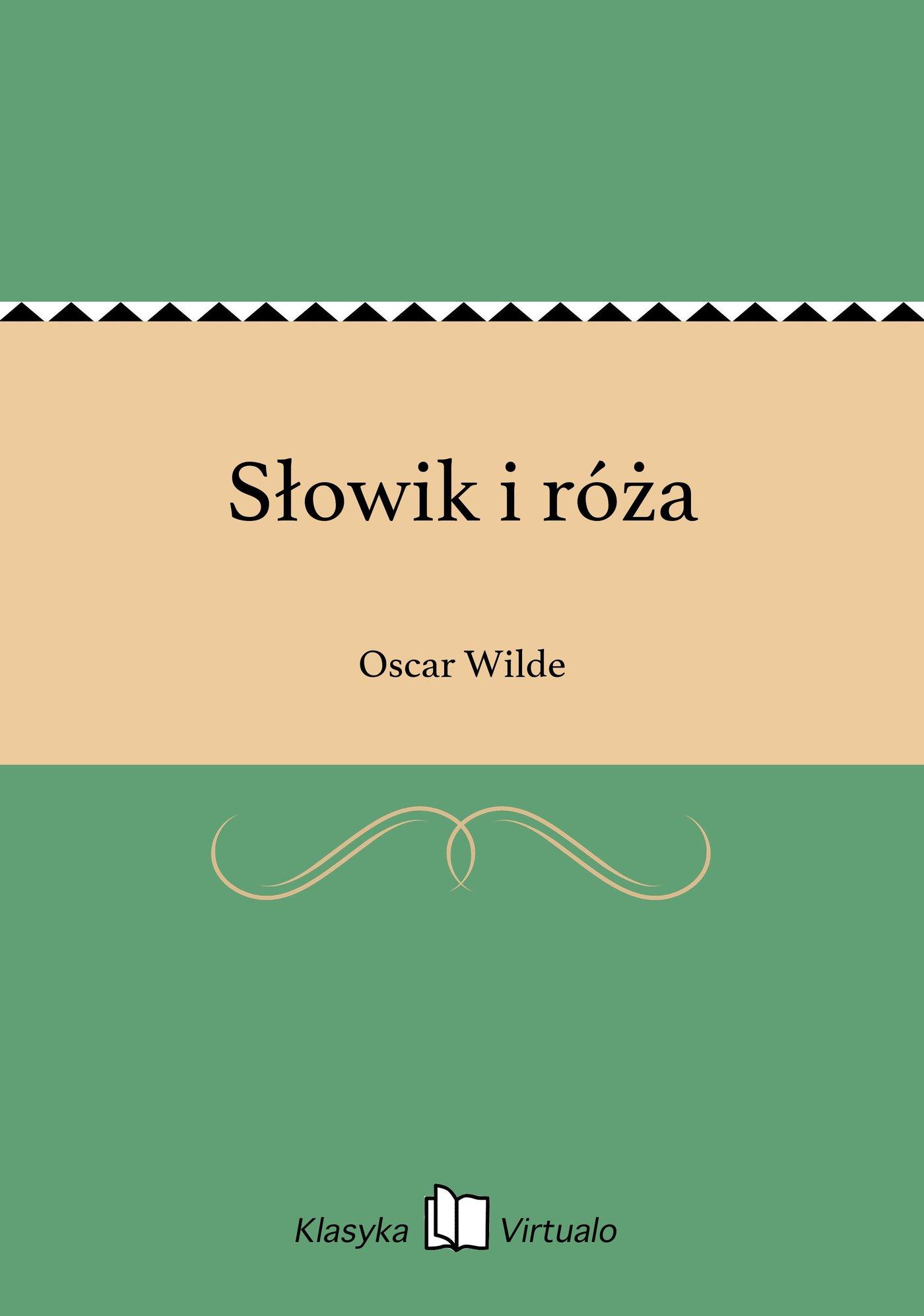 Słowik i róża - Ebook (Książka EPUB) do pobrania w formacie EPUB