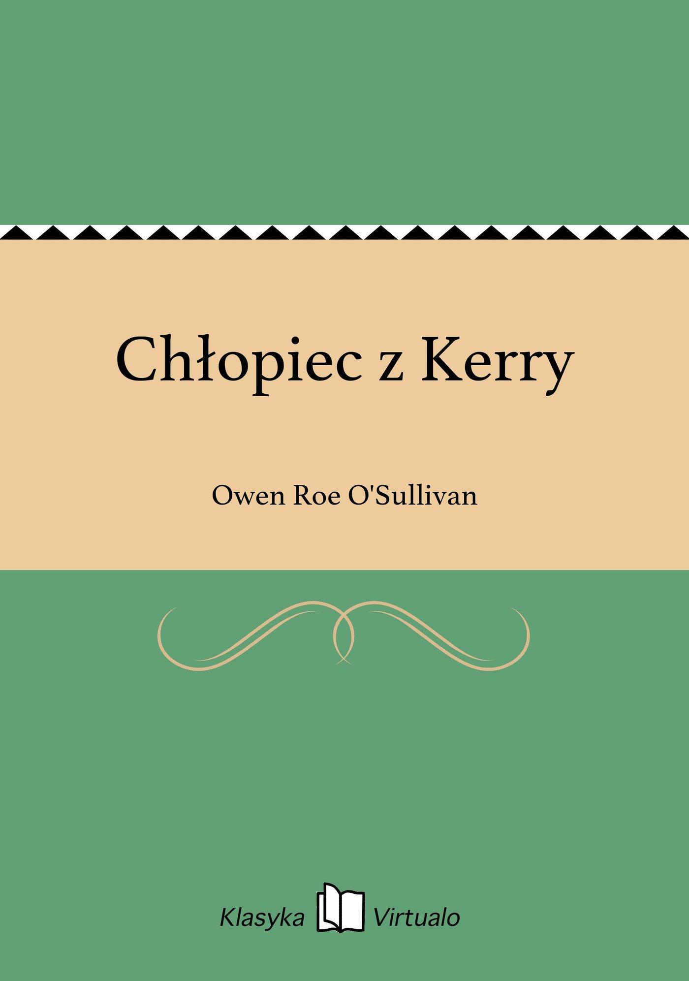 Chłopiec z Kerry - Ebook (Książka EPUB) do pobrania w formacie EPUB