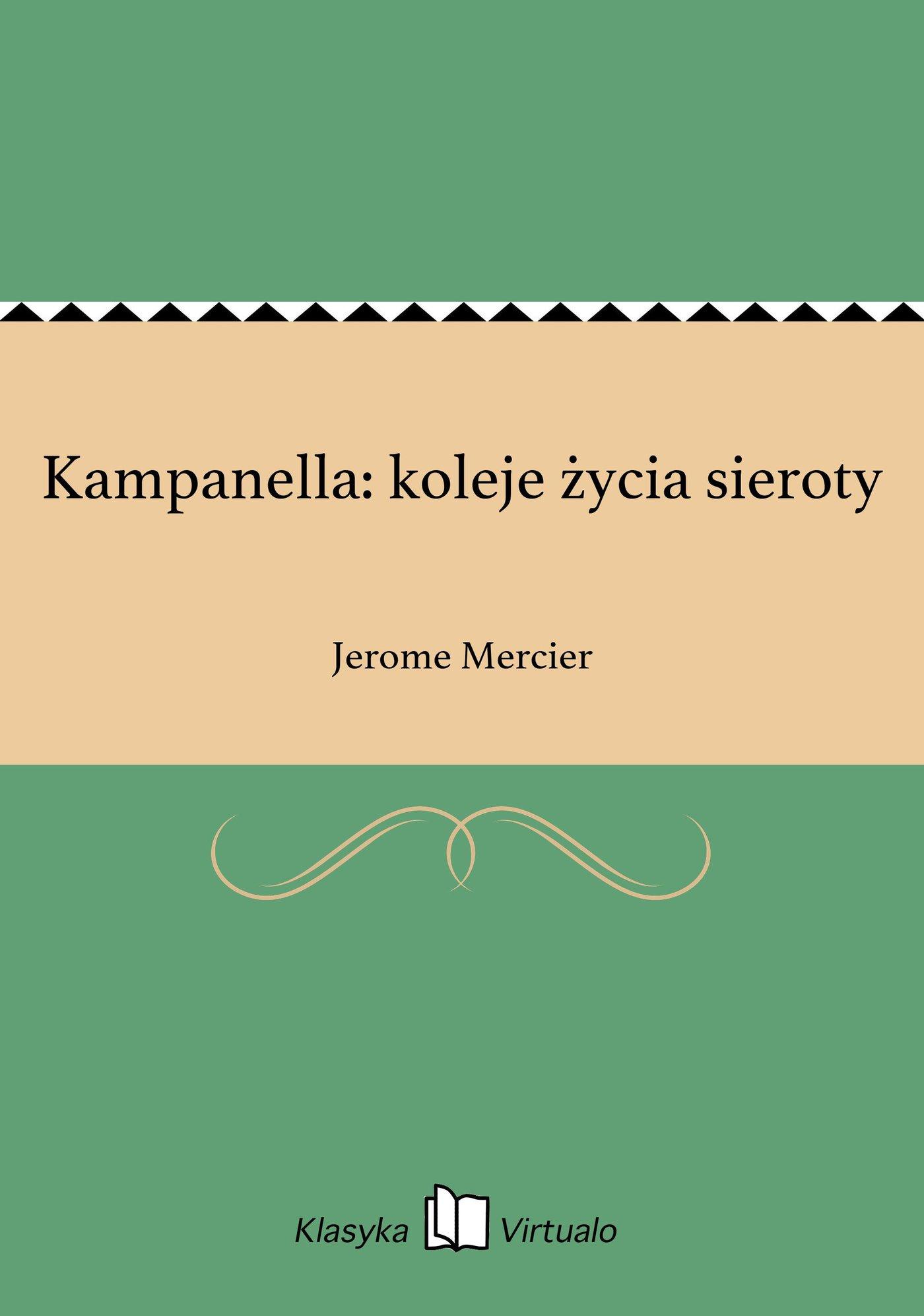 Kampanella: koleje życia sieroty - Ebook (Książka EPUB) do pobrania w formacie EPUB