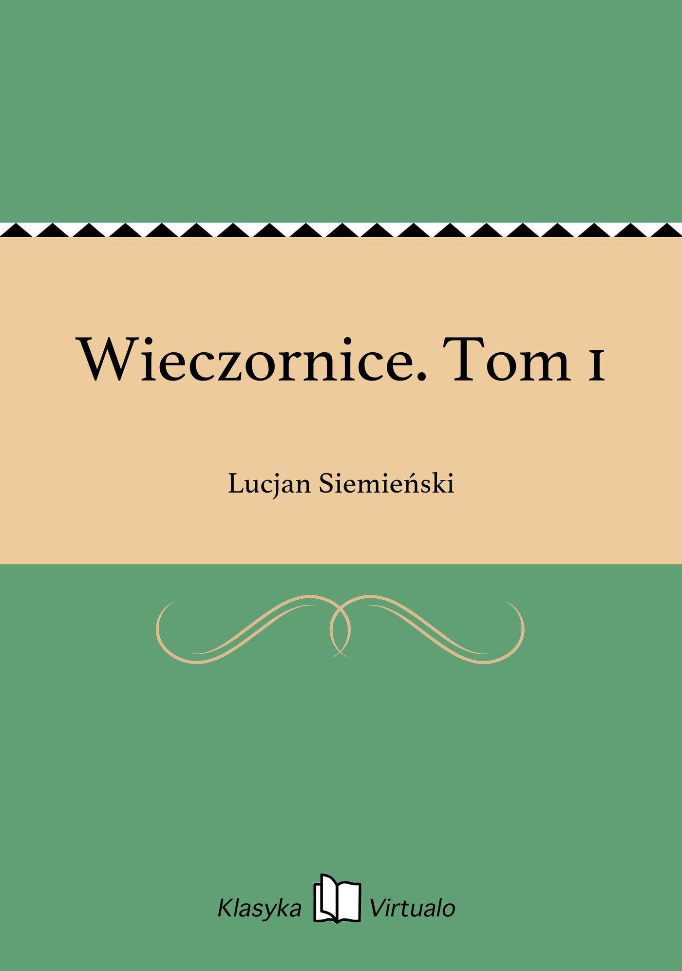 Wieczornice. Tom 1 - Ebook (Książka EPUB) do pobrania w formacie EPUB