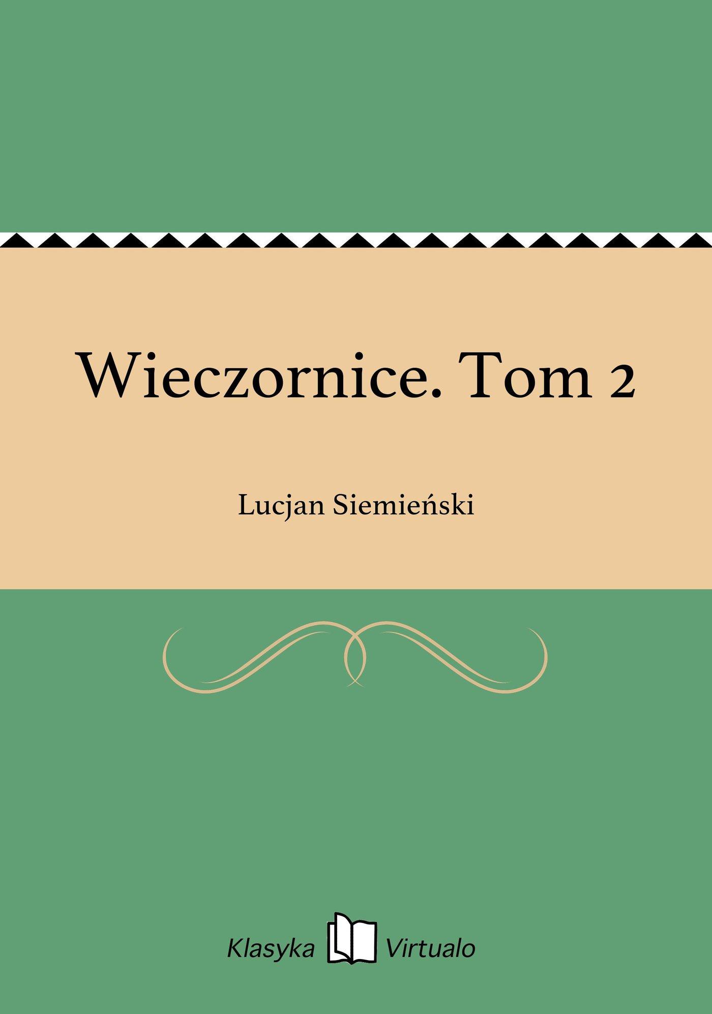 Wieczornice. Tom 2 - Ebook (Książka EPUB) do pobrania w formacie EPUB