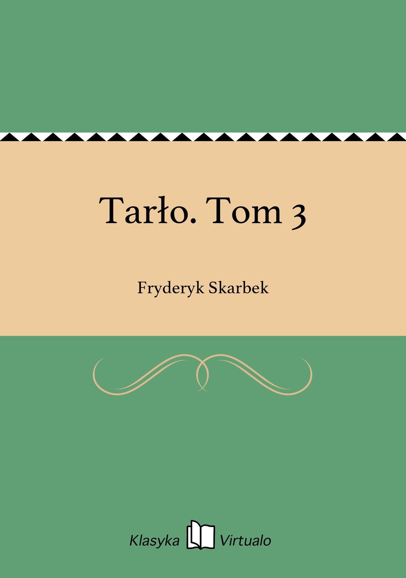 Tarło. Tom 3 - Ebook (Książka EPUB) do pobrania w formacie EPUB
