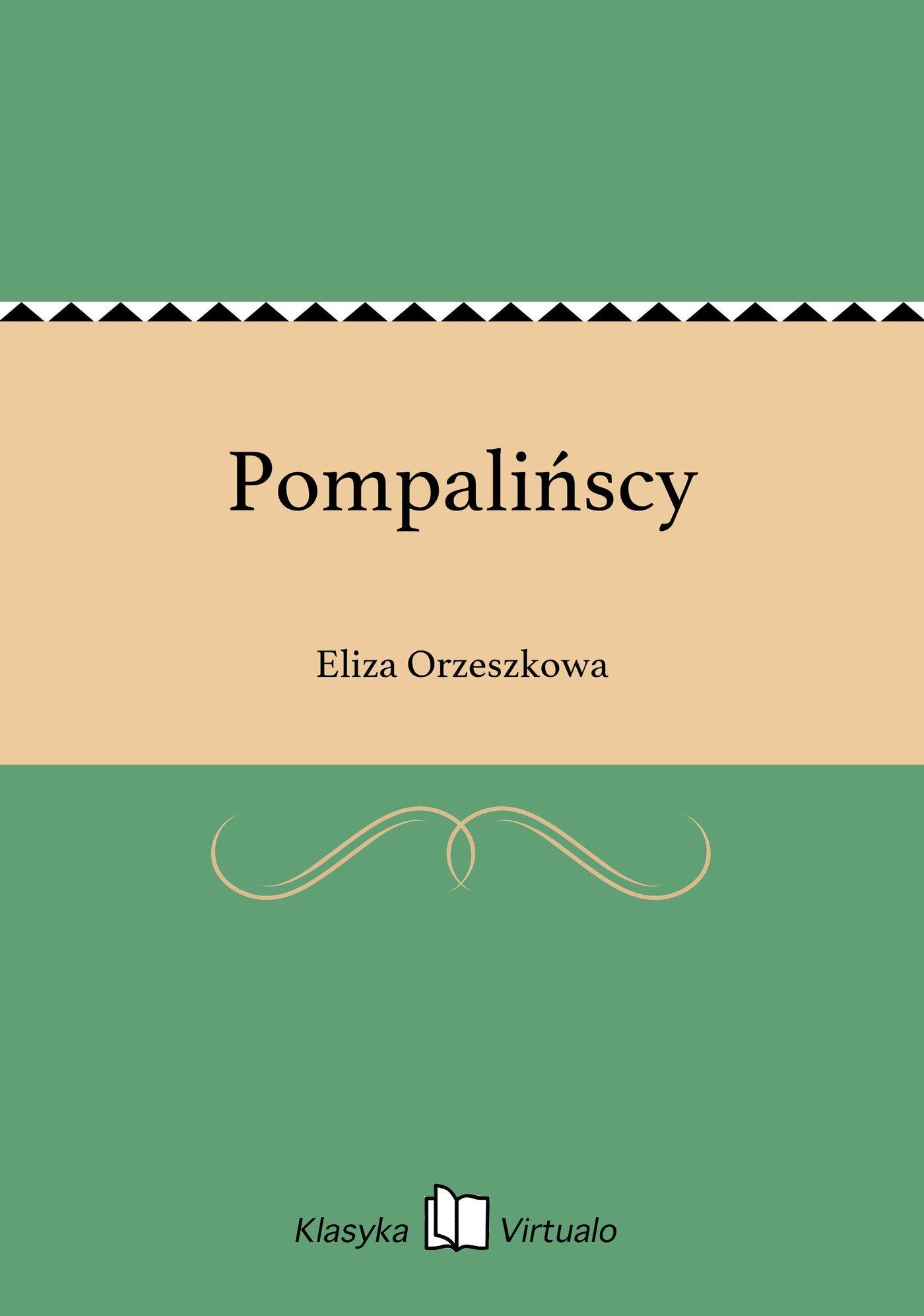 Pompalińscy - Ebook (Książka EPUB) do pobrania w formacie EPUB