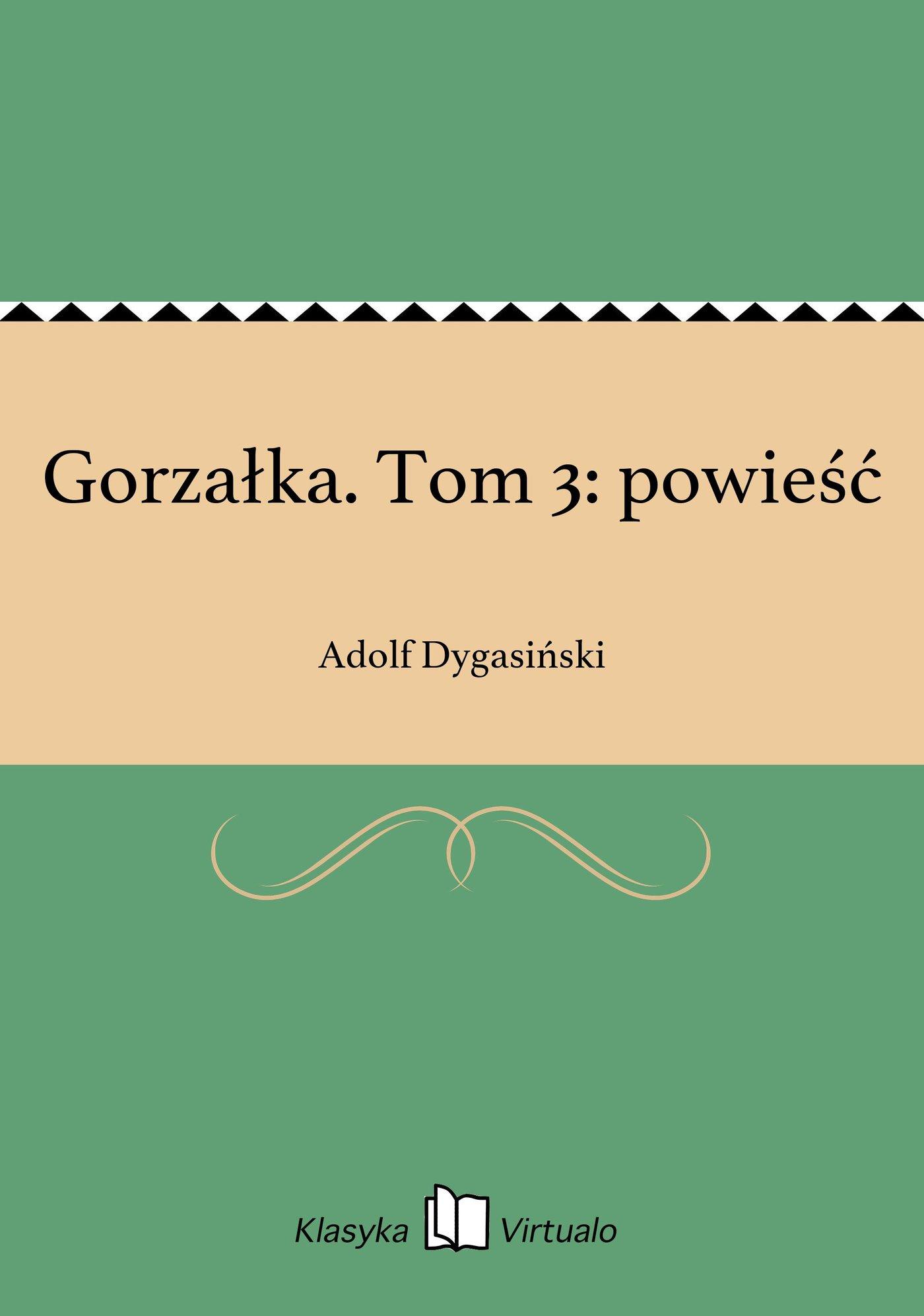 Gorzałka. Tom 3: powieść - Ebook (Książka EPUB) do pobrania w formacie EPUB