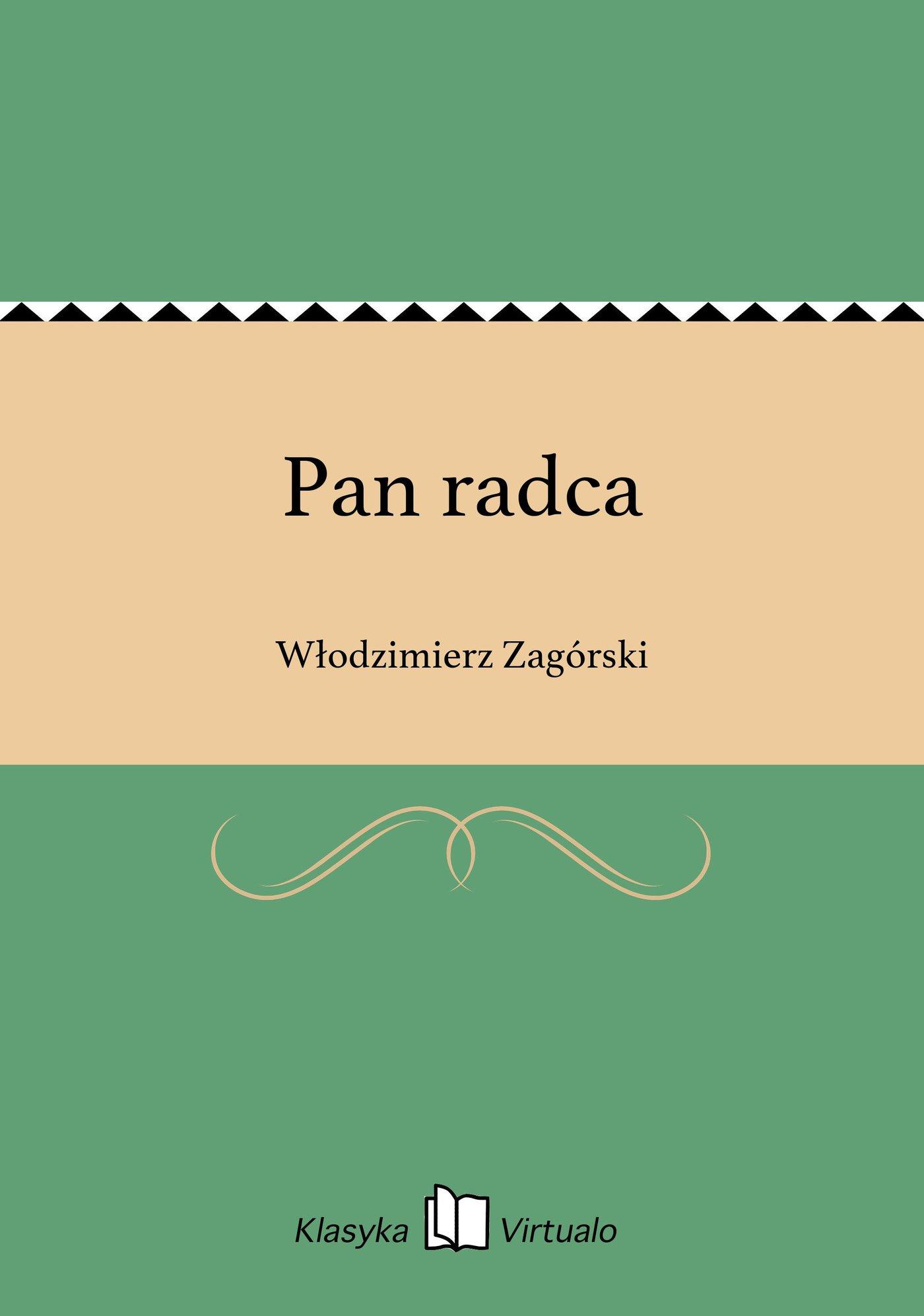 Pan radca - Ebook (Książka EPUB) do pobrania w formacie EPUB