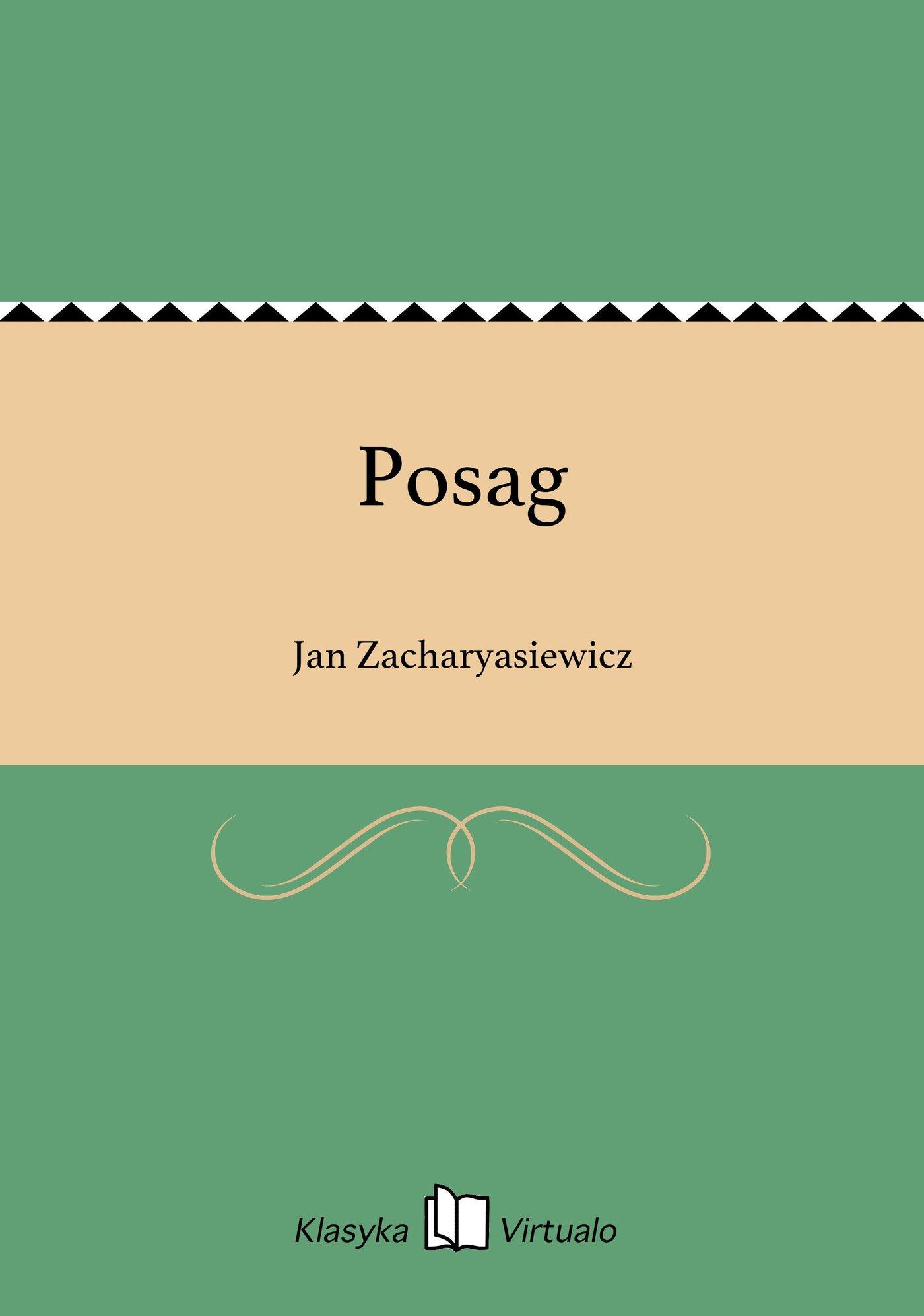 Posag - Ebook (Książka EPUB) do pobrania w formacie EPUB
