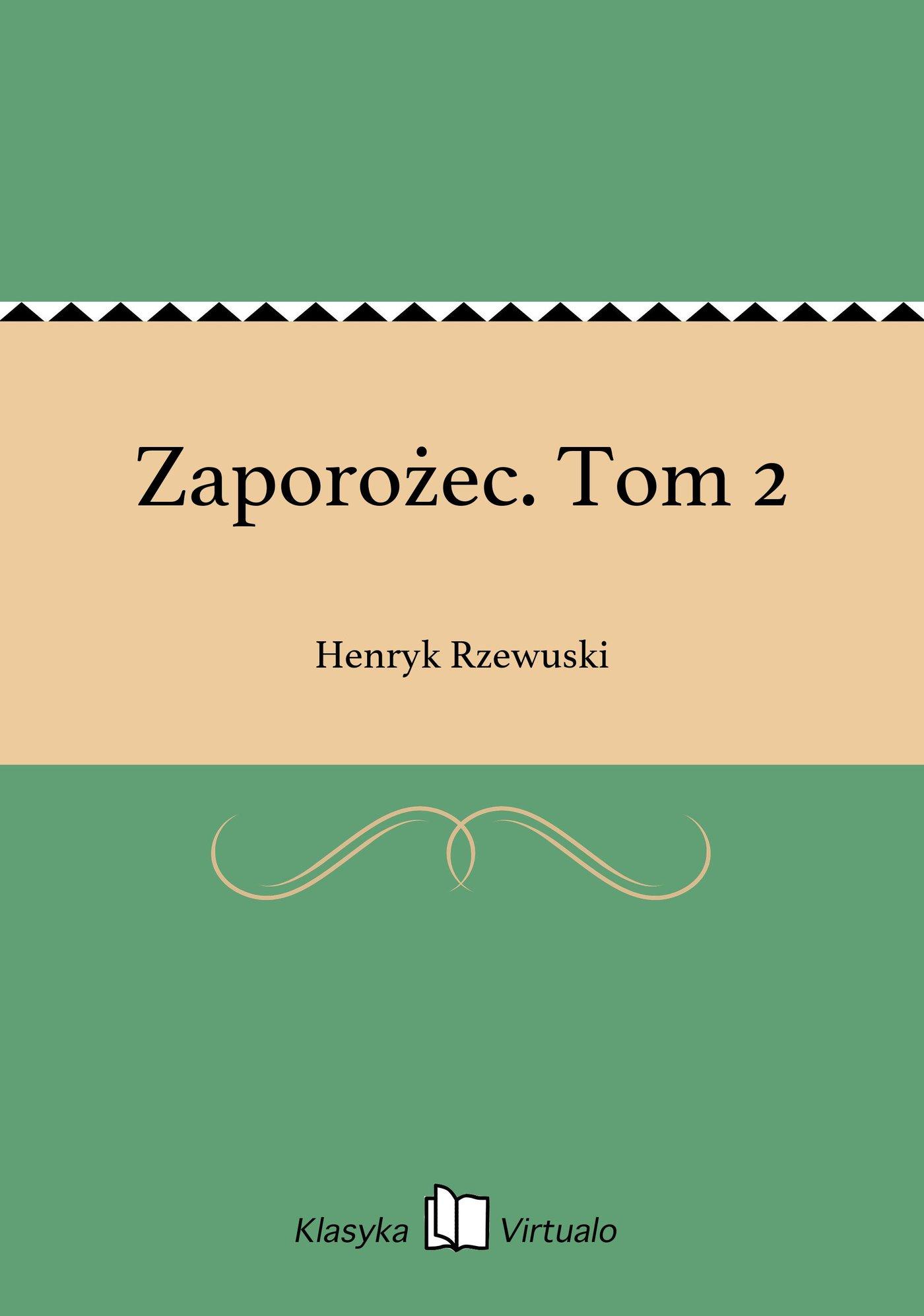Zaporożec. Tom 2 - Ebook (Książka EPUB) do pobrania w formacie EPUB