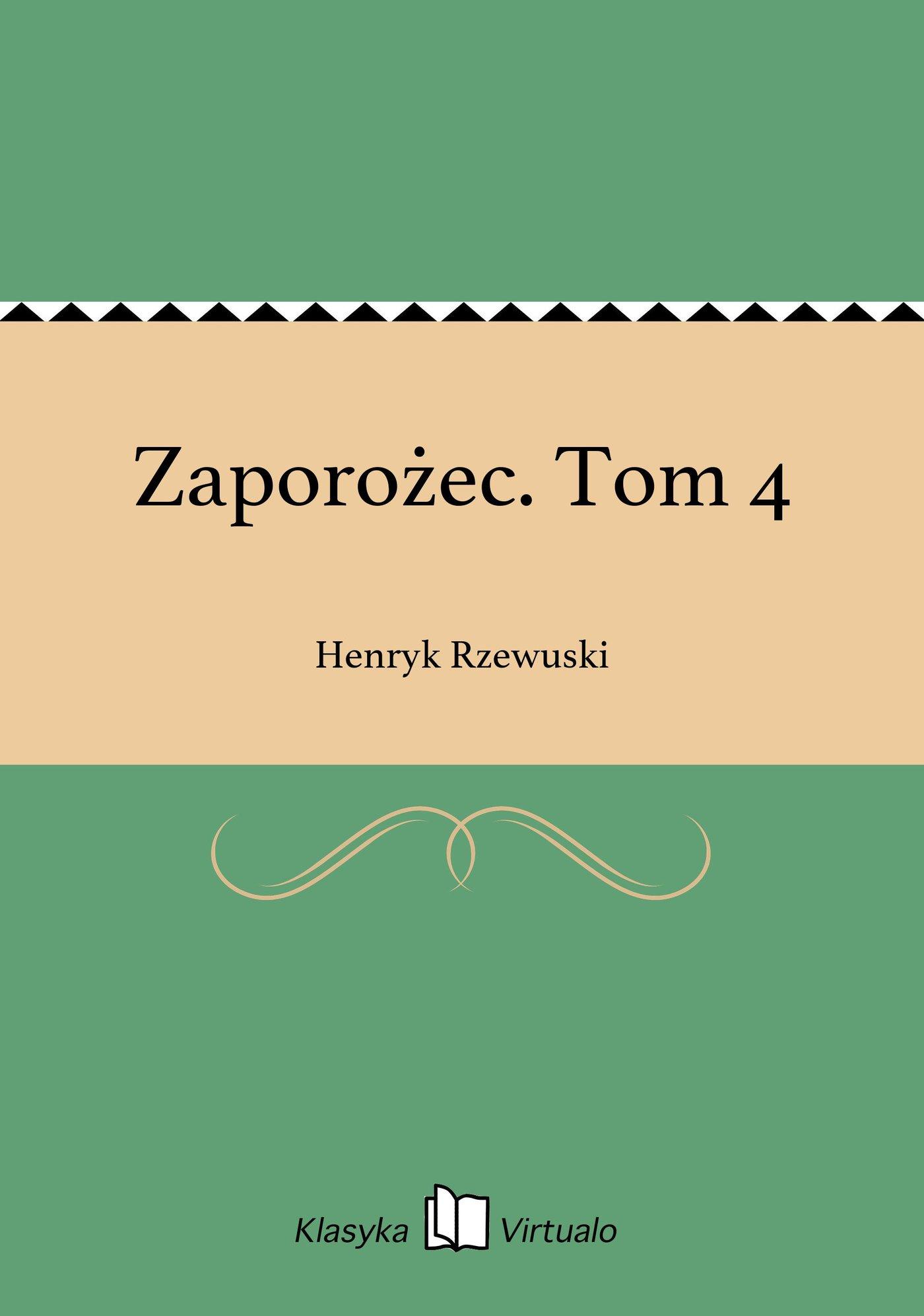 Zaporożec. Tom 4 - Ebook (Książka EPUB) do pobrania w formacie EPUB