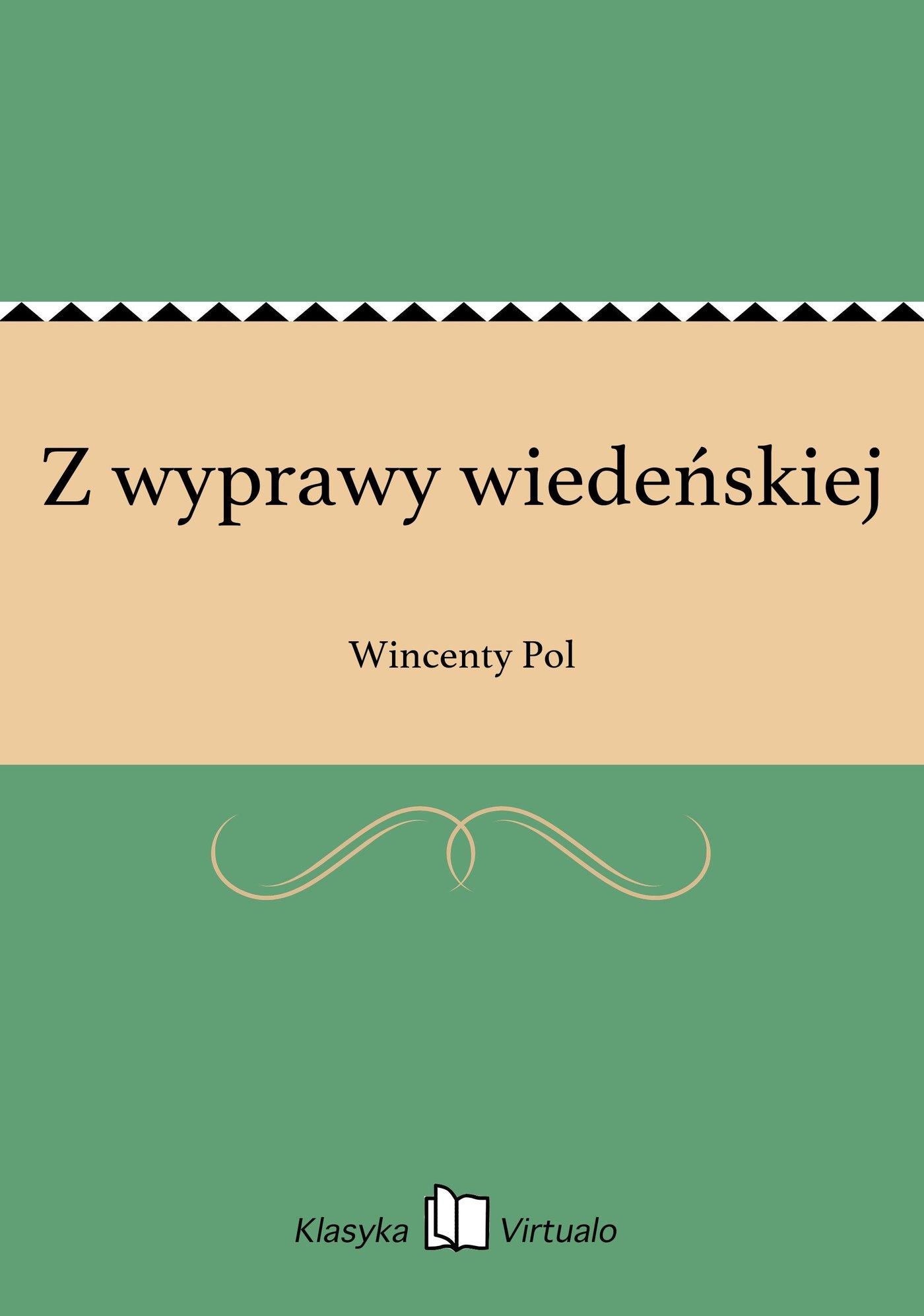 Z wyprawy wiedeńskiej - Ebook (Książka EPUB) do pobrania w formacie EPUB