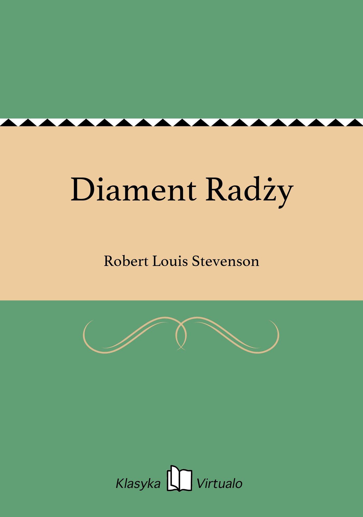 Diament Radży - Ebook (Książka EPUB) do pobrania w formacie EPUB