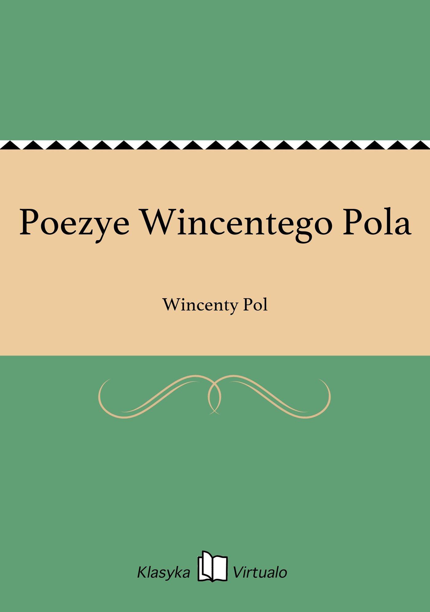 Poezye Wincentego Pola - Ebook (Książka EPUB) do pobrania w formacie EPUB