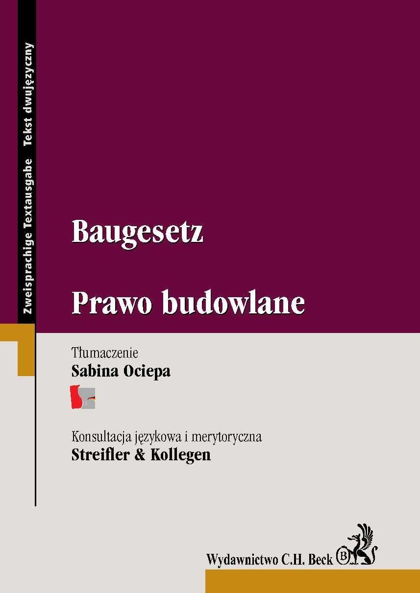 Baugesetz. Prawo budowlane - Ebook (Książka PDF) do pobrania w formacie PDF