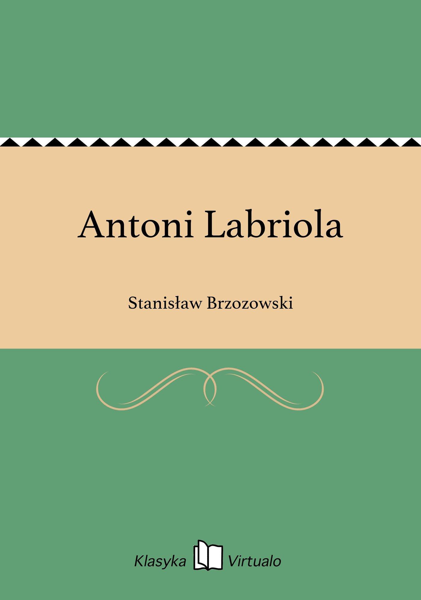 Antoni Labriola - Ebook (Książka EPUB) do pobrania w formacie EPUB