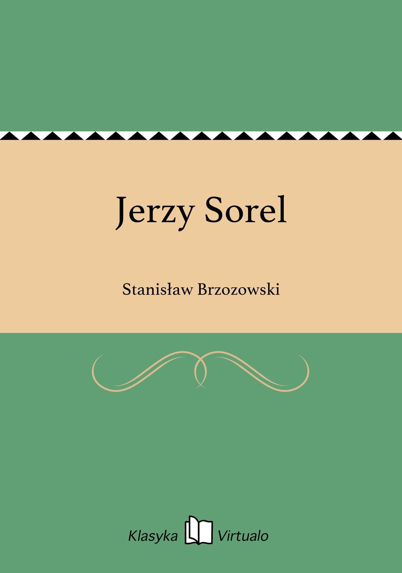 Jerzy Sorel - Ebook (Książka EPUB) do pobrania w formacie EPUB
