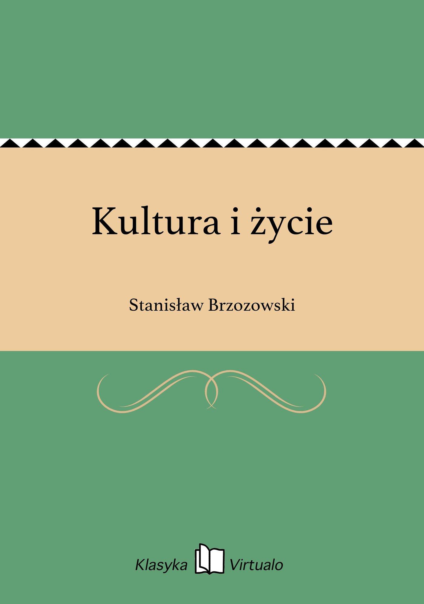 Kultura i życie - Ebook (Książka EPUB) do pobrania w formacie EPUB