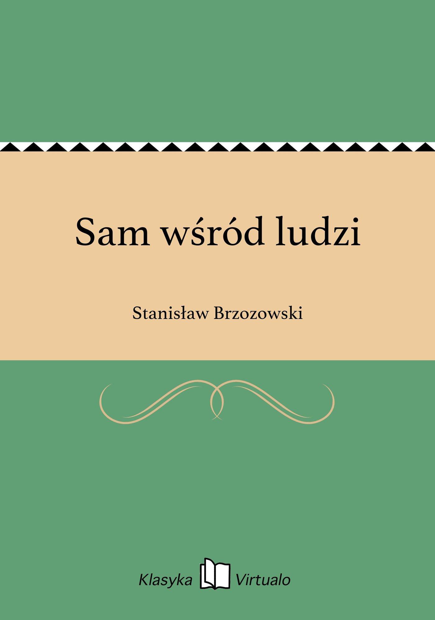 Sam wśród ludzi - Ebook (Książka EPUB) do pobrania w formacie EPUB