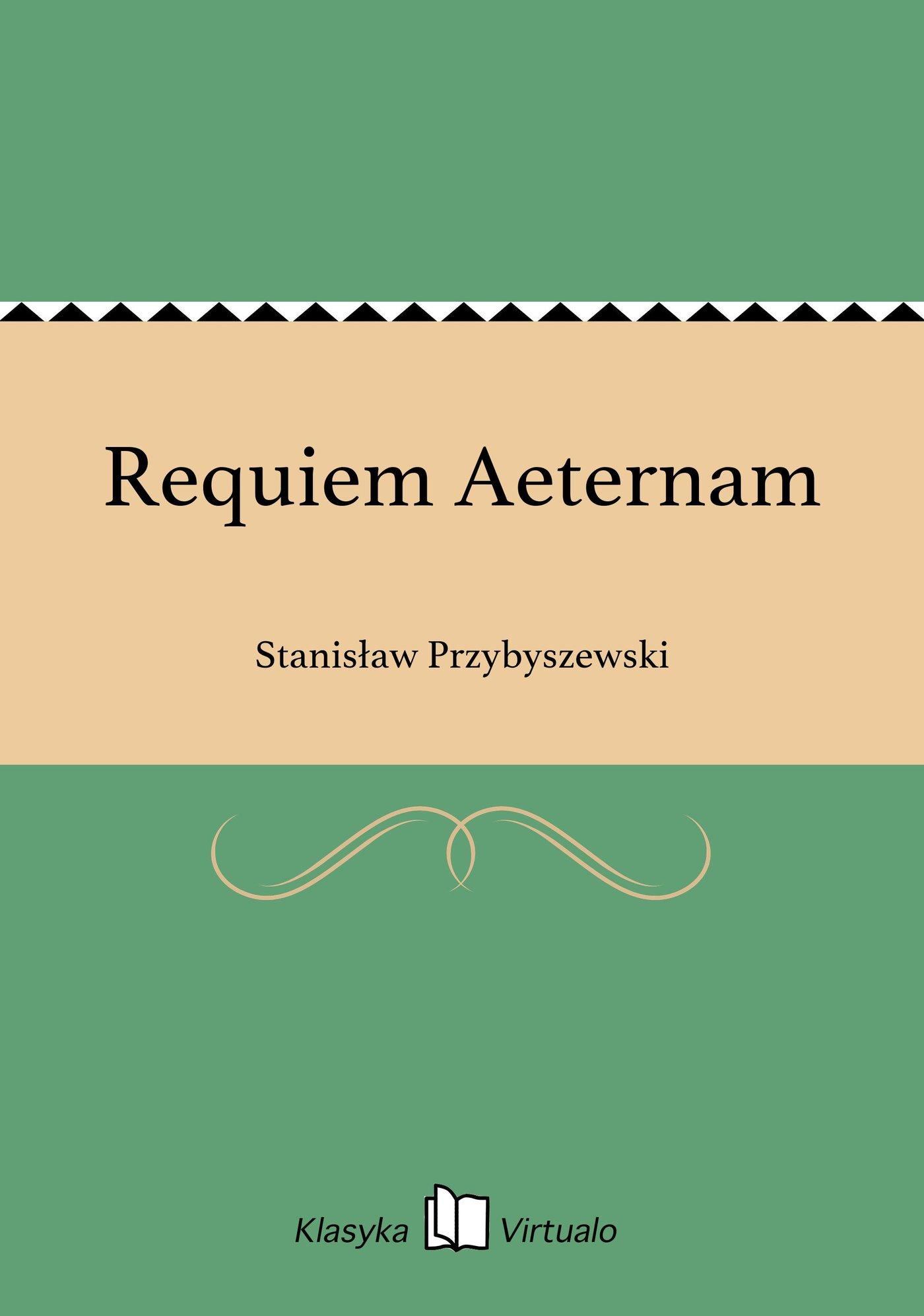 Requiem Aeternam - Ebook (Książka EPUB) do pobrania w formacie EPUB