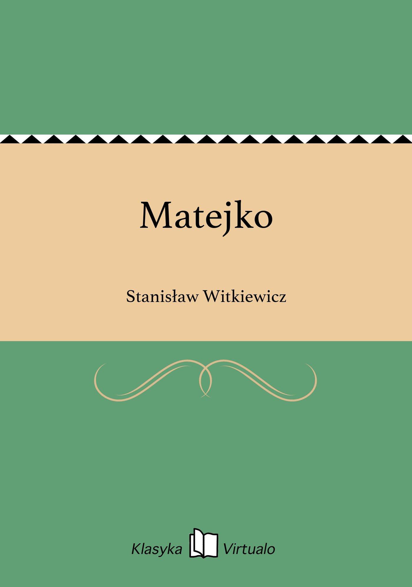 Matejko - Ebook (Książka EPUB) do pobrania w formacie EPUB