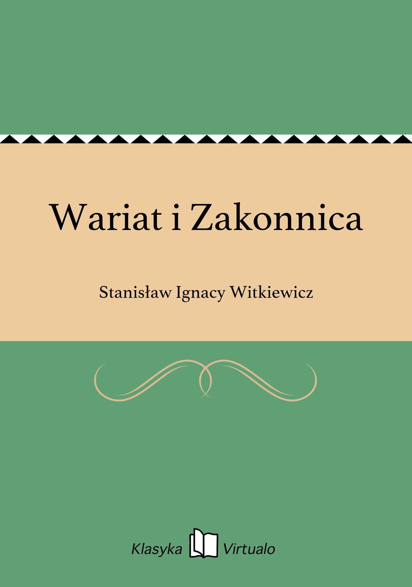 Wariat i Zakonnica - Ebook (Książka EPUB) do pobrania w formacie EPUB