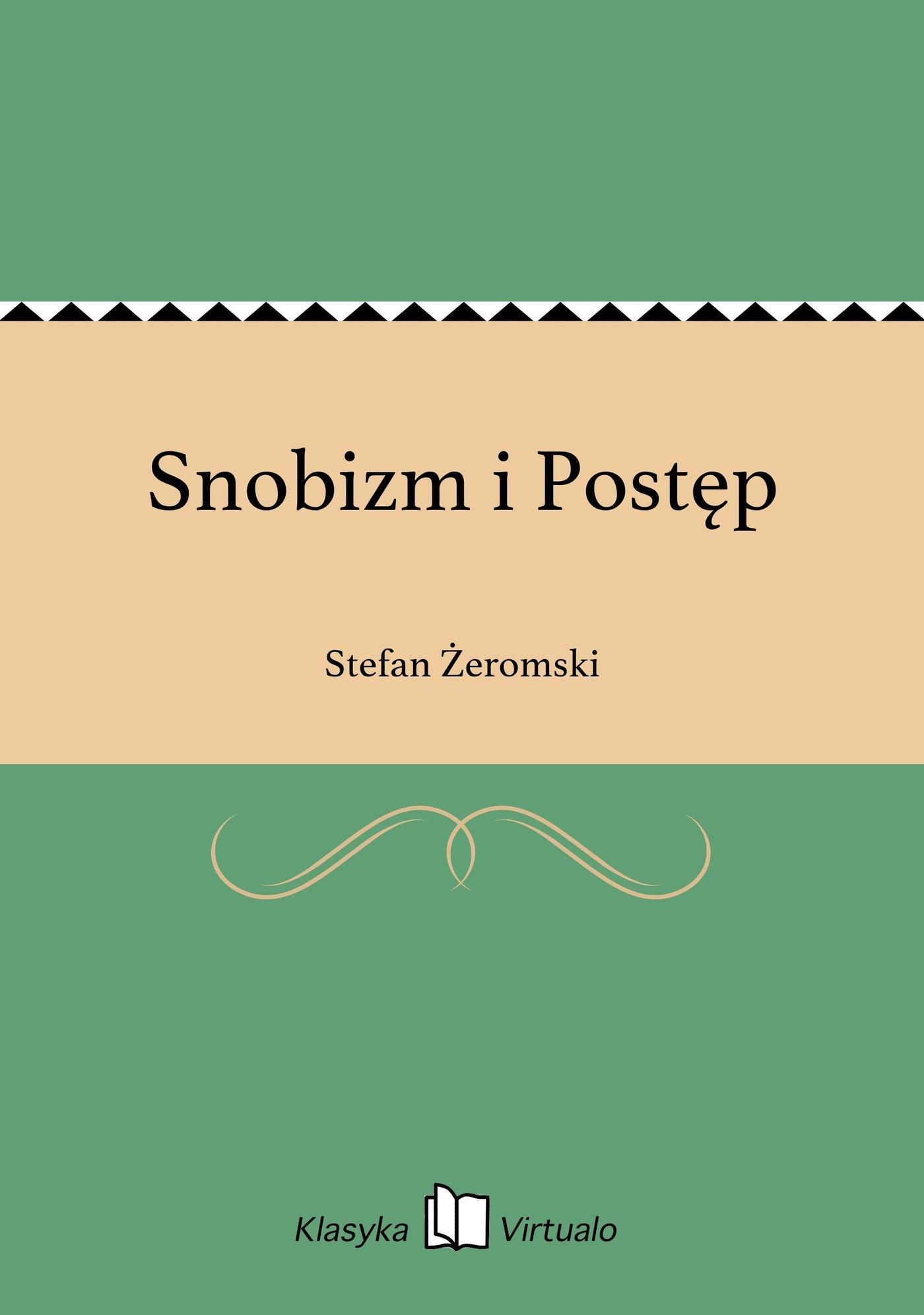 Snobizm i Postęp - Ebook (Książka EPUB) do pobrania w formacie EPUB