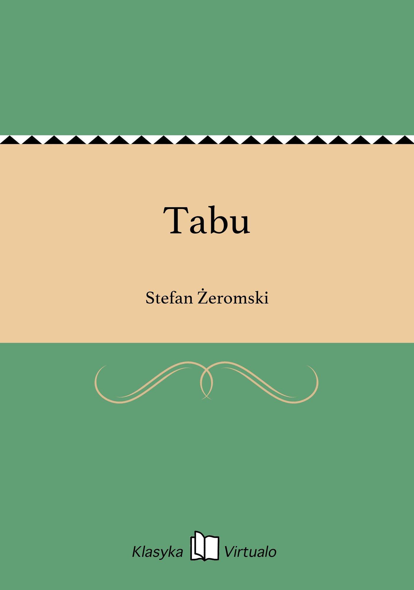 Tabu - Ebook (Książka EPUB) do pobrania w formacie EPUB
