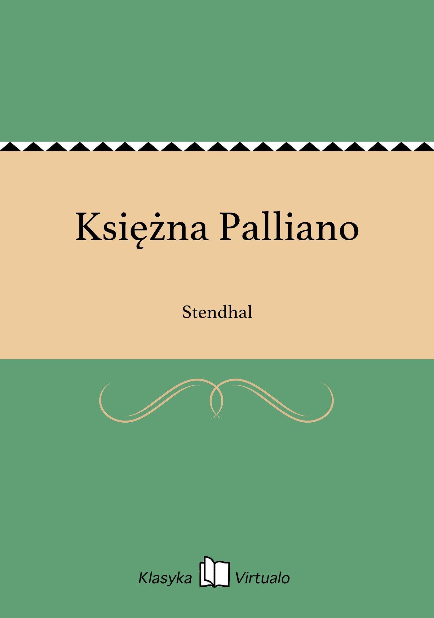 Księżna Palliano - Ebook (Książka EPUB) do pobrania w formacie EPUB