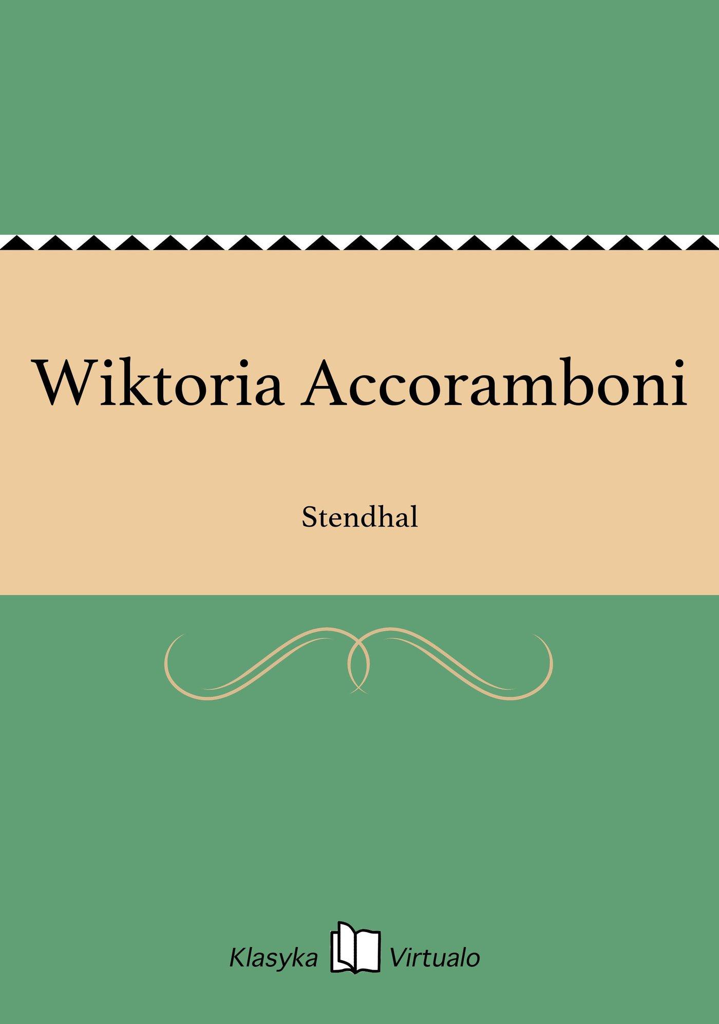 Wiktoria Accoramboni - Ebook (Książka EPUB) do pobrania w formacie EPUB