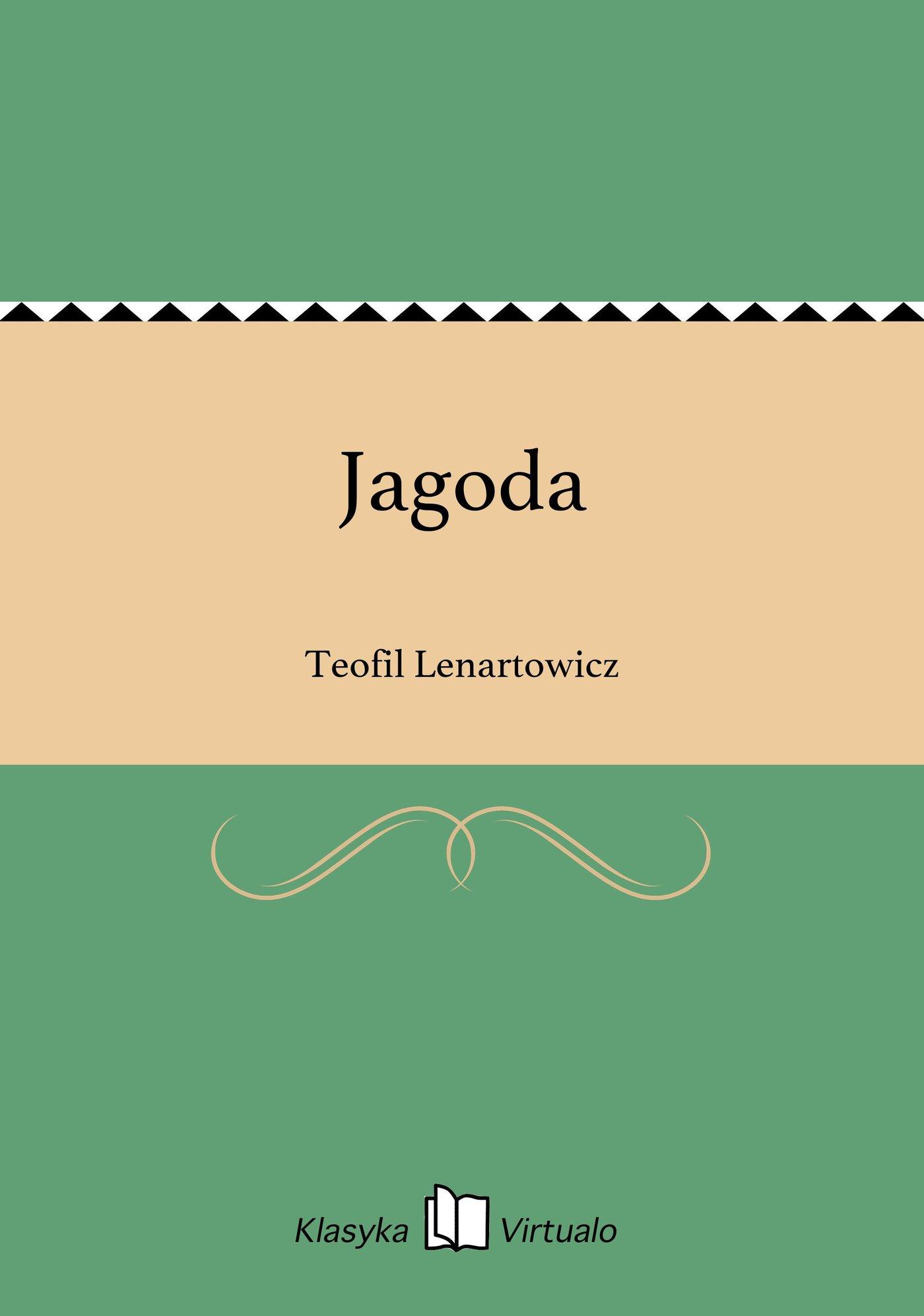 Jagoda - Ebook (Książka EPUB) do pobrania w formacie EPUB