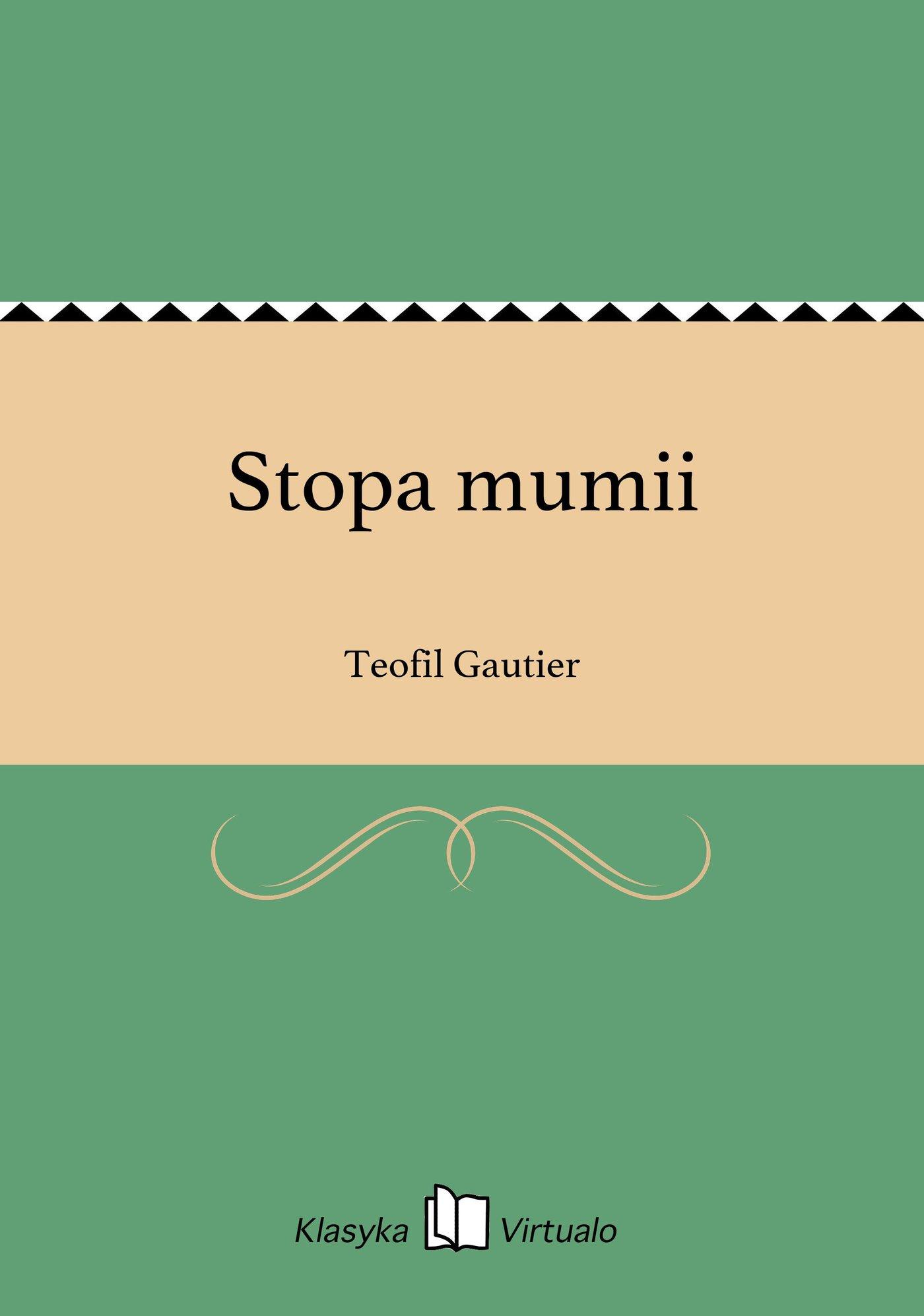Stopa mumii - Ebook (Książka EPUB) do pobrania w formacie EPUB